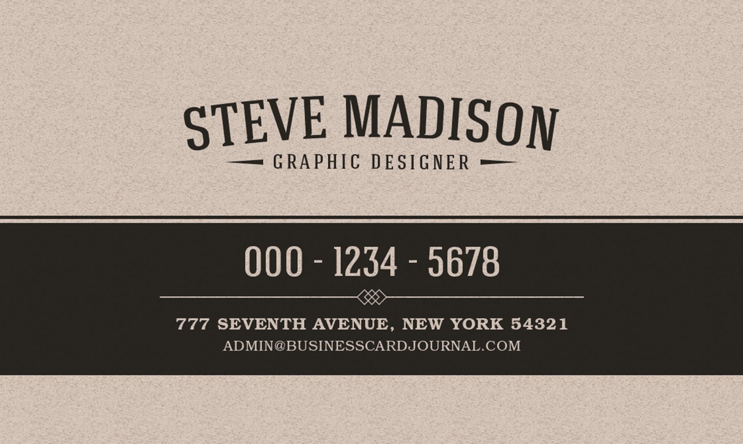 Free business card template 41