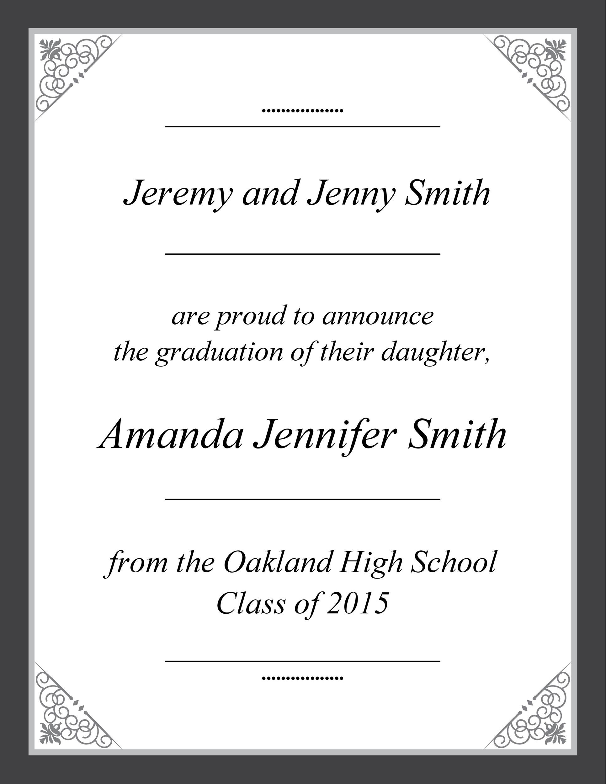 Free Graduation Invitation Templates 06