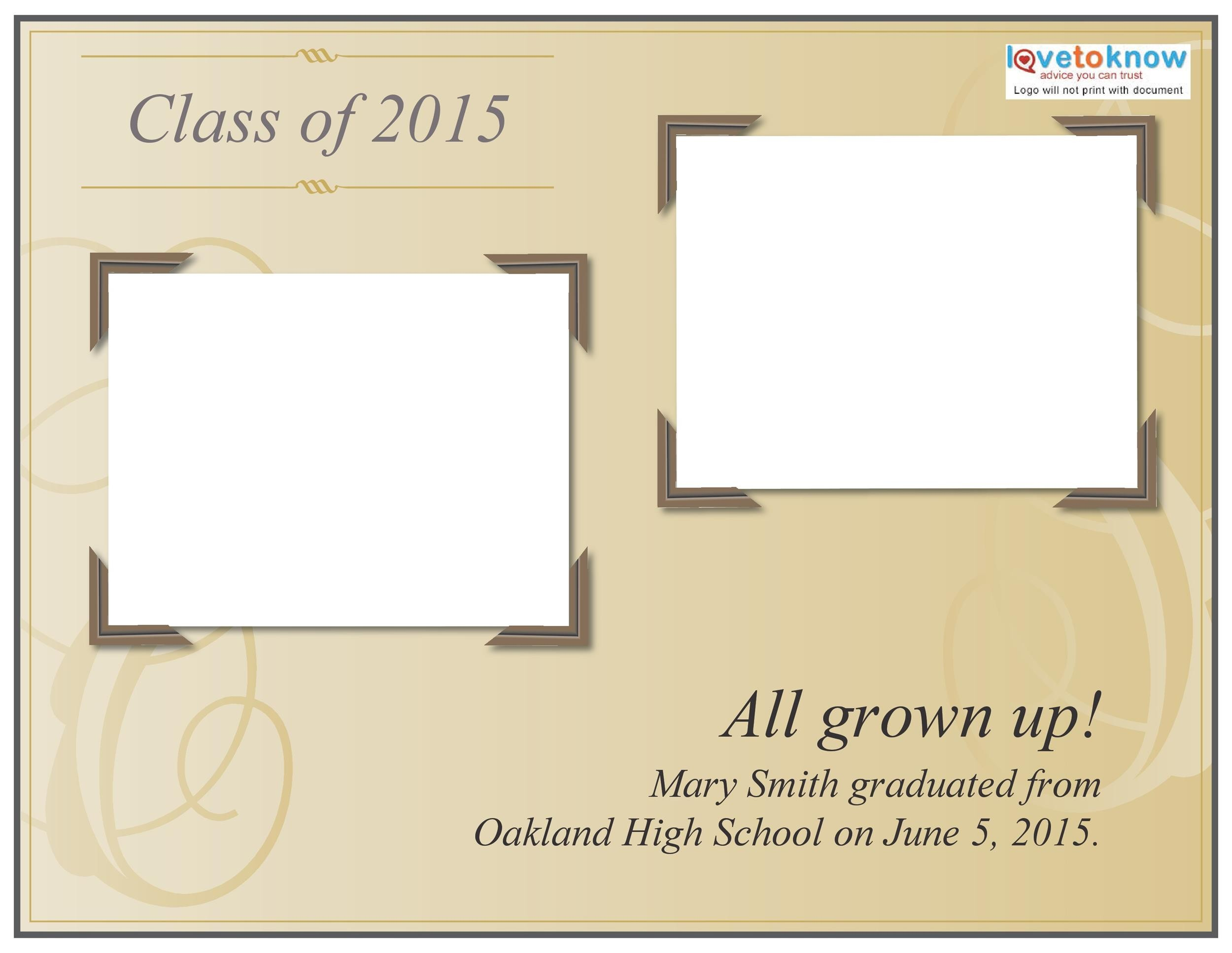 Free Graduation Invitation Templates 07