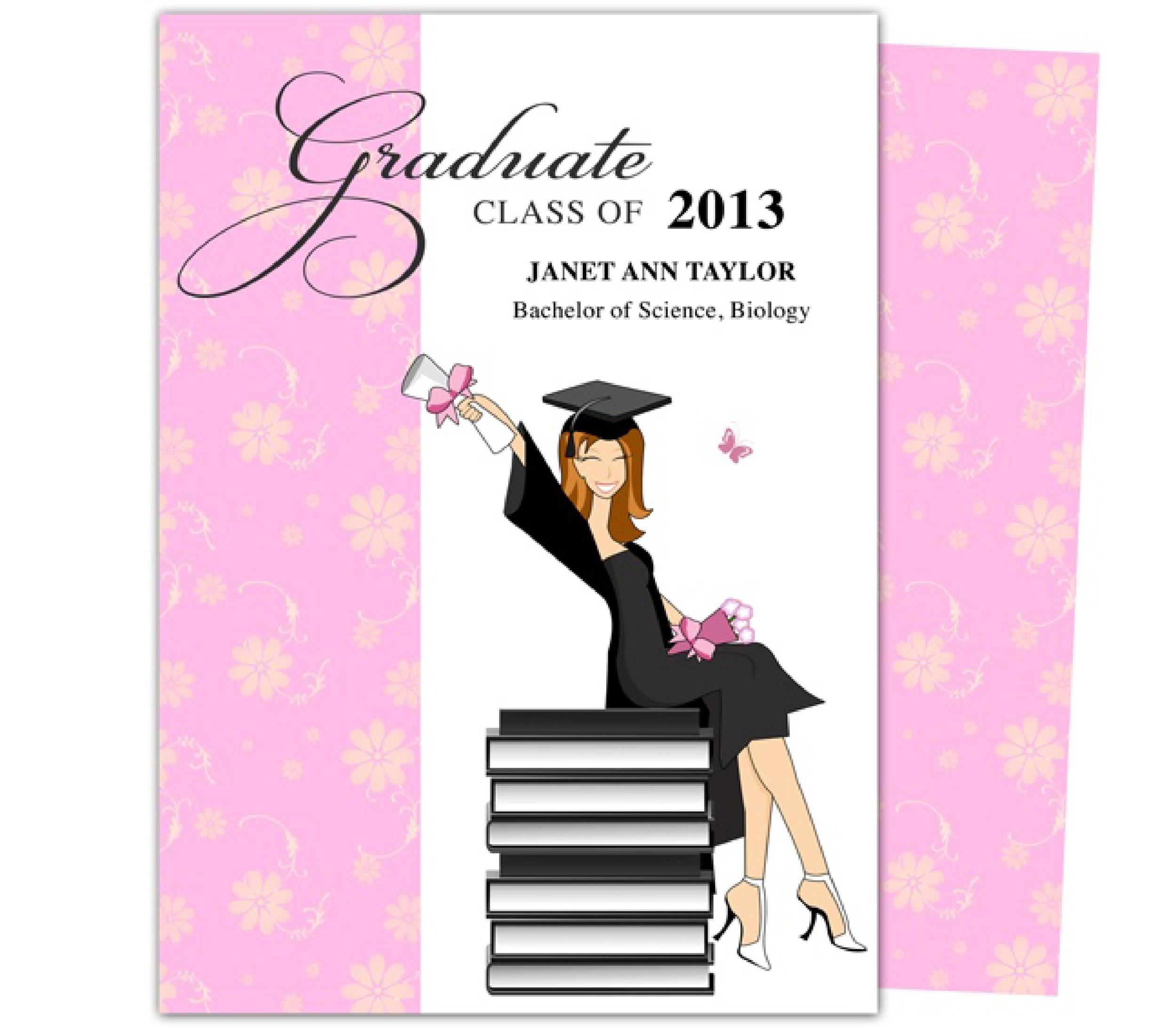 graduation invitation templates 16