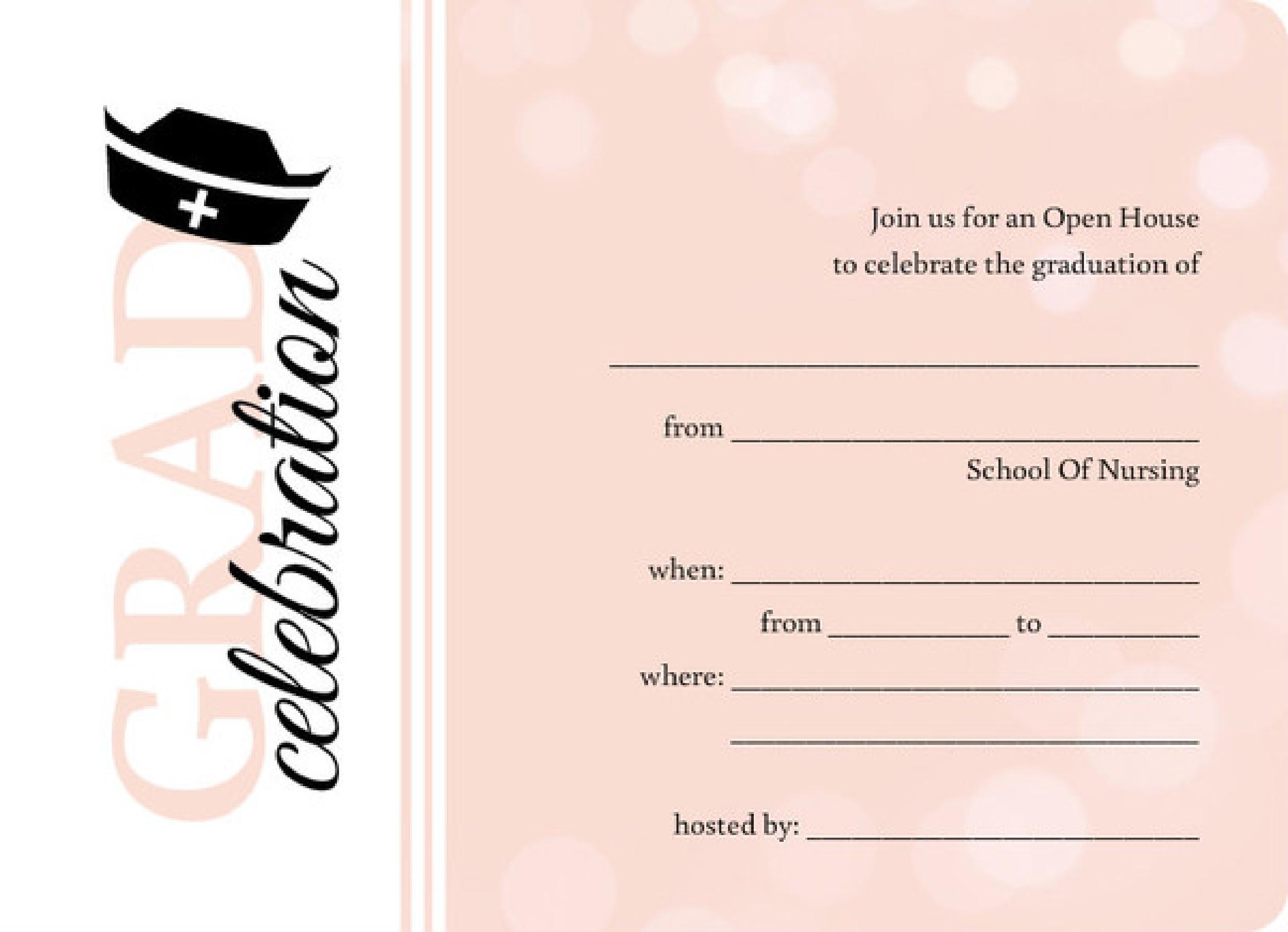 Free Graduation Invitation Templates 23