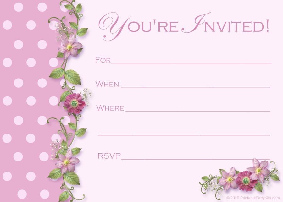 Free Graduation Invitation Templates 30