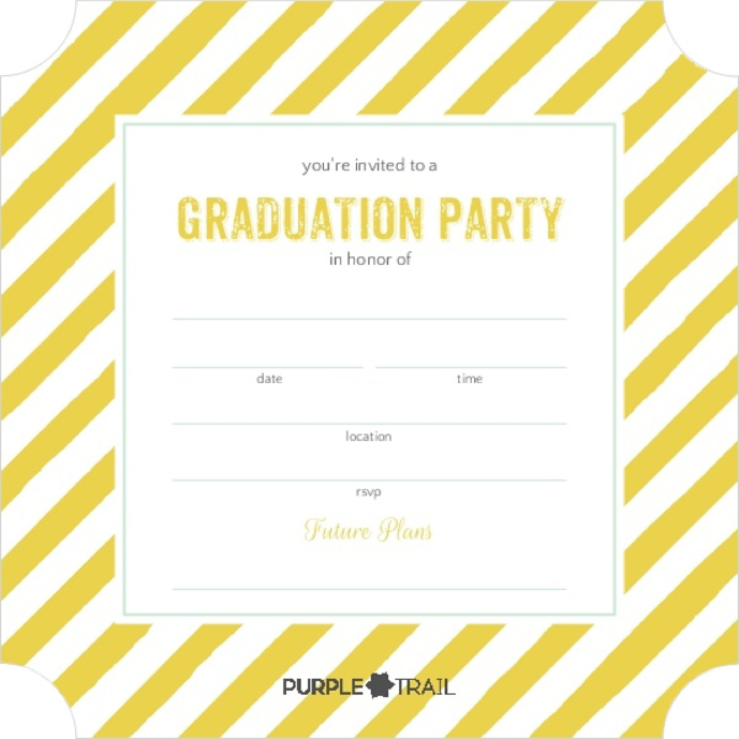Free Graduation Invitation Templates 32