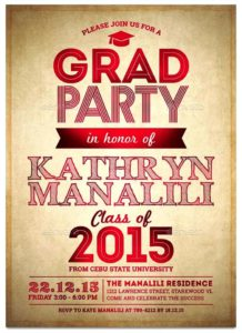 graduation invitation templates 34