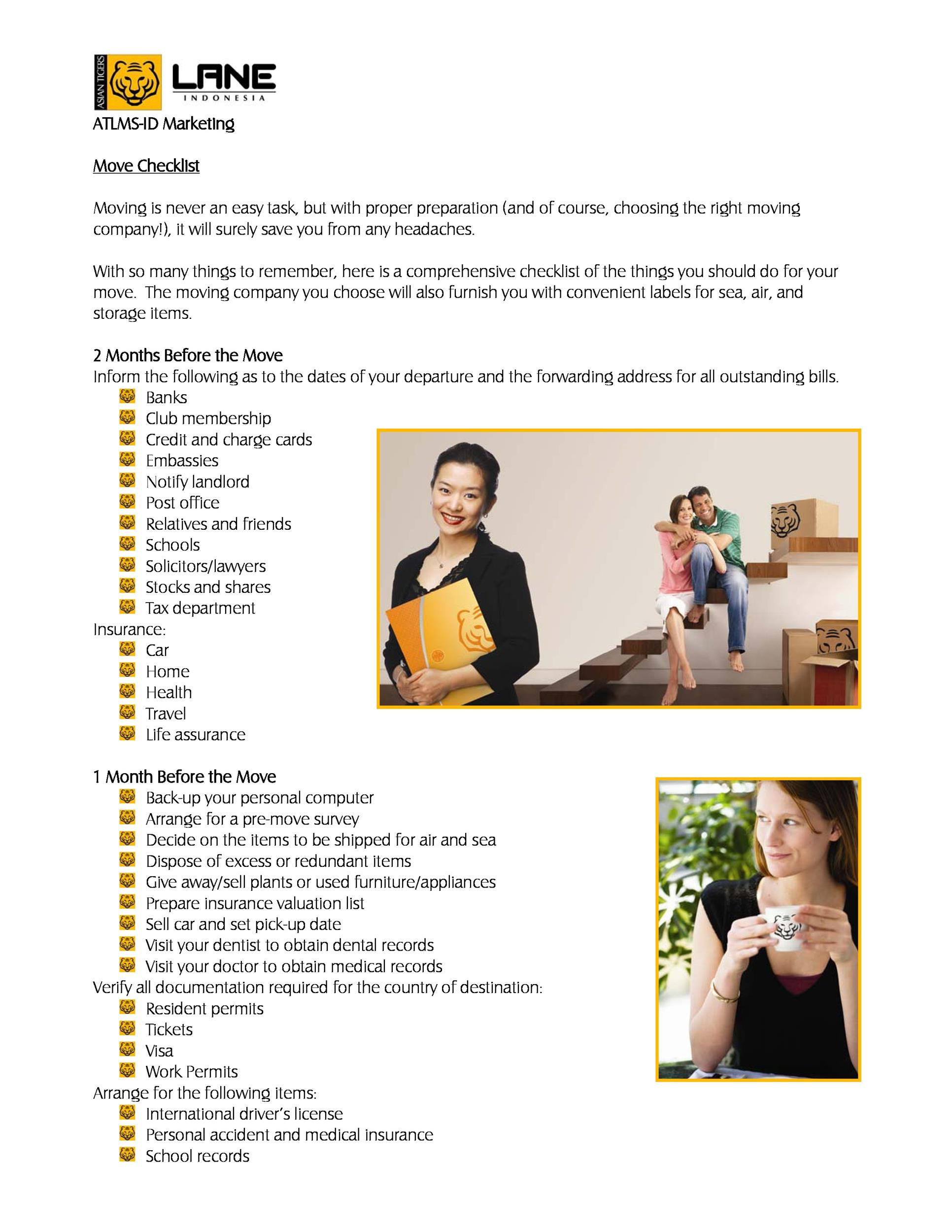 Free moving checklist 43
