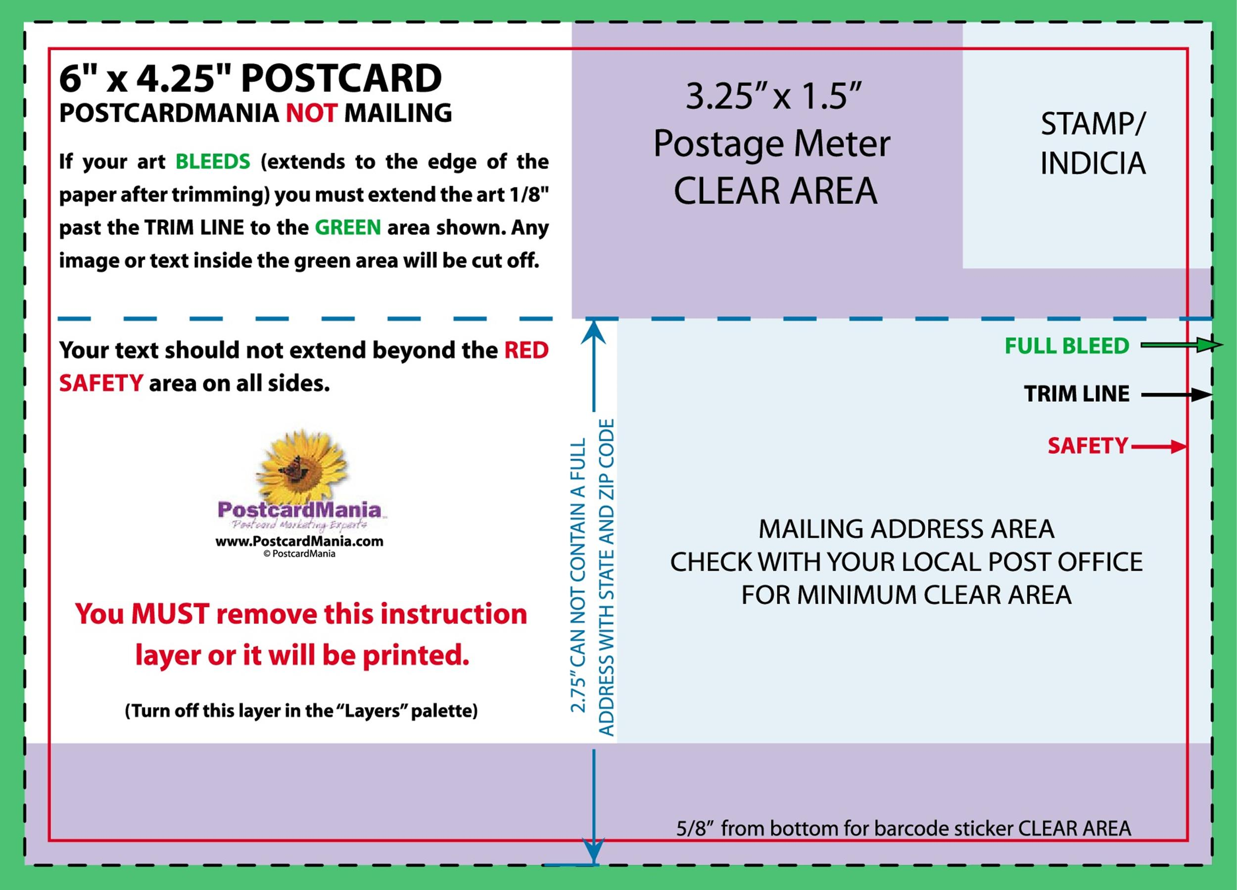40+ Great Postcard Templates & Designs [Word + PDF] ᐅ