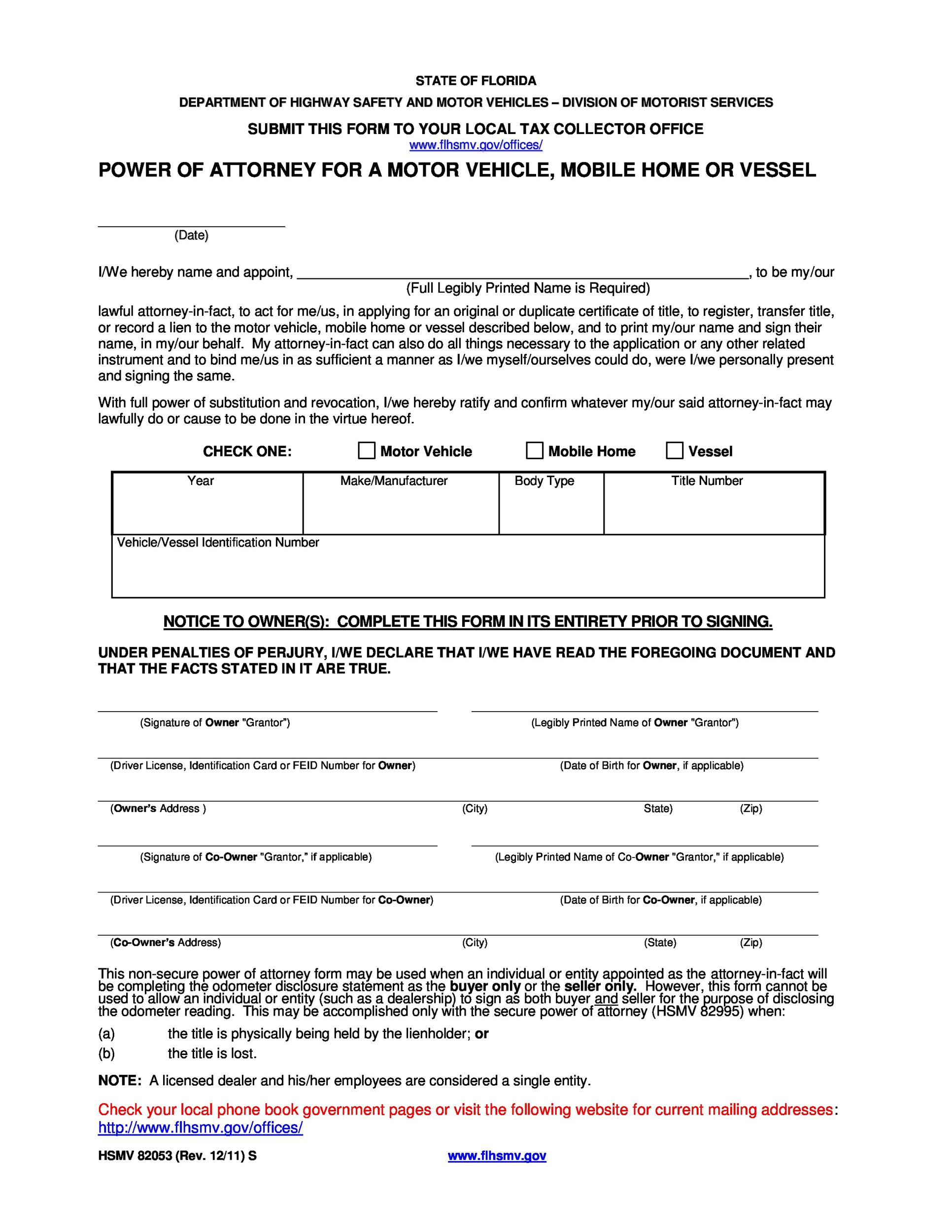 50 free power of attorney forms templates durable medicalgeneral printable power of attorney 09 falaconquin