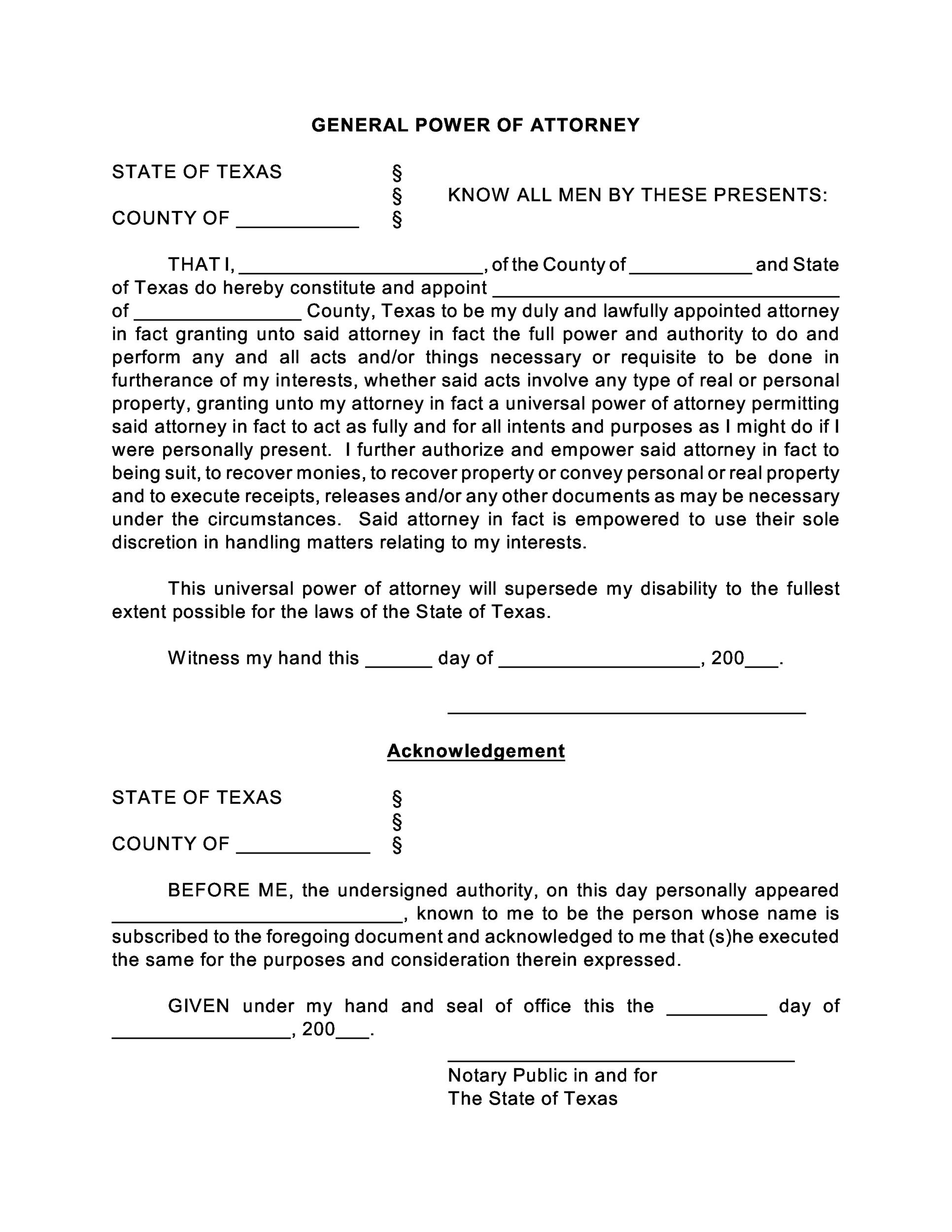 power of attorney form template  poa letter - Unotakzi.brynnagraephoto.com