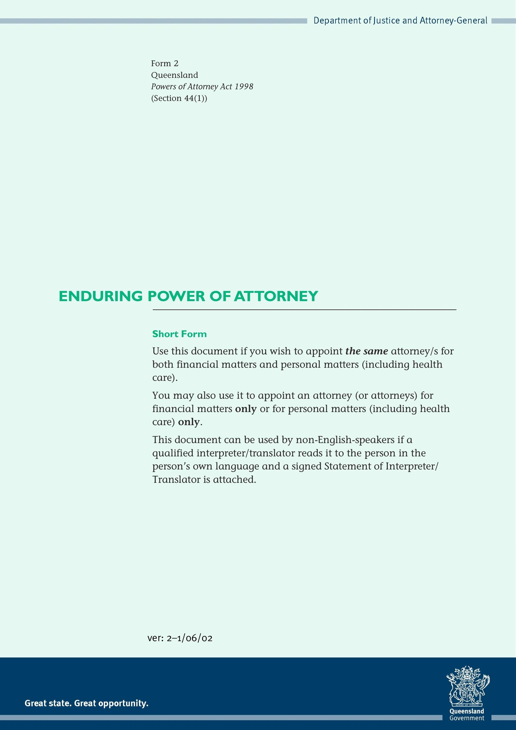 Free power of attorney 18
