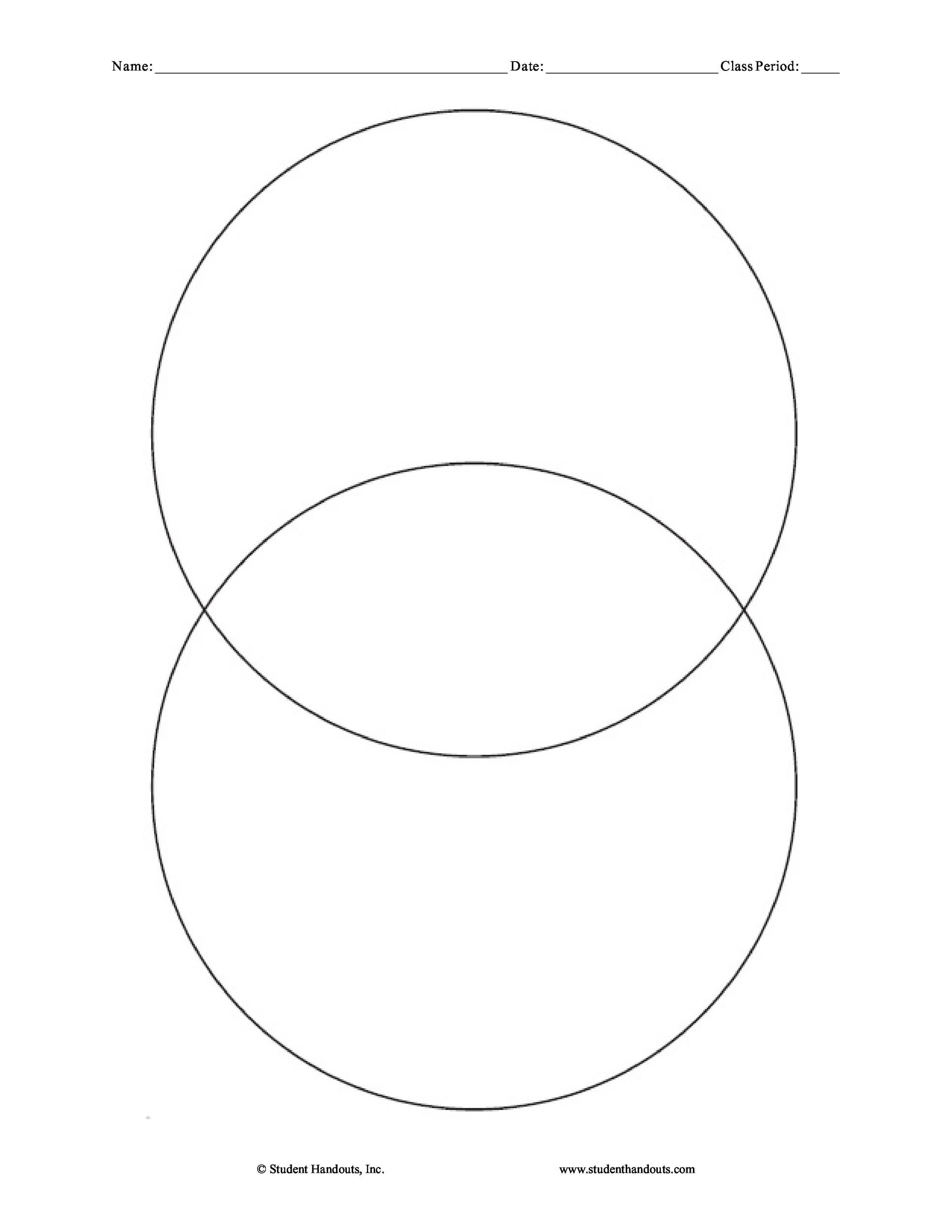 Free venn diagram template  06
