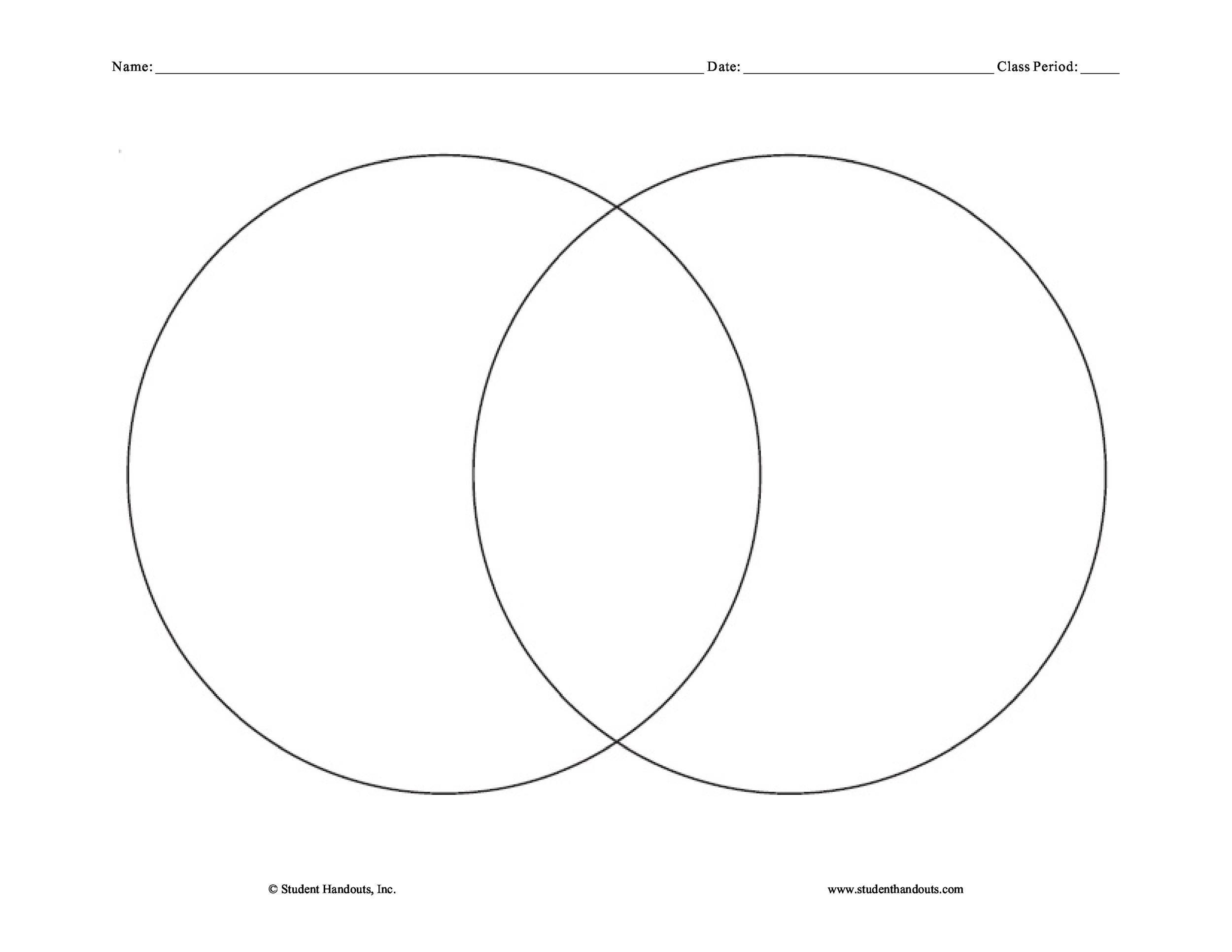 40+ Free Venn Diagram Templates (Word, PDF) ᐅ TemplateLab