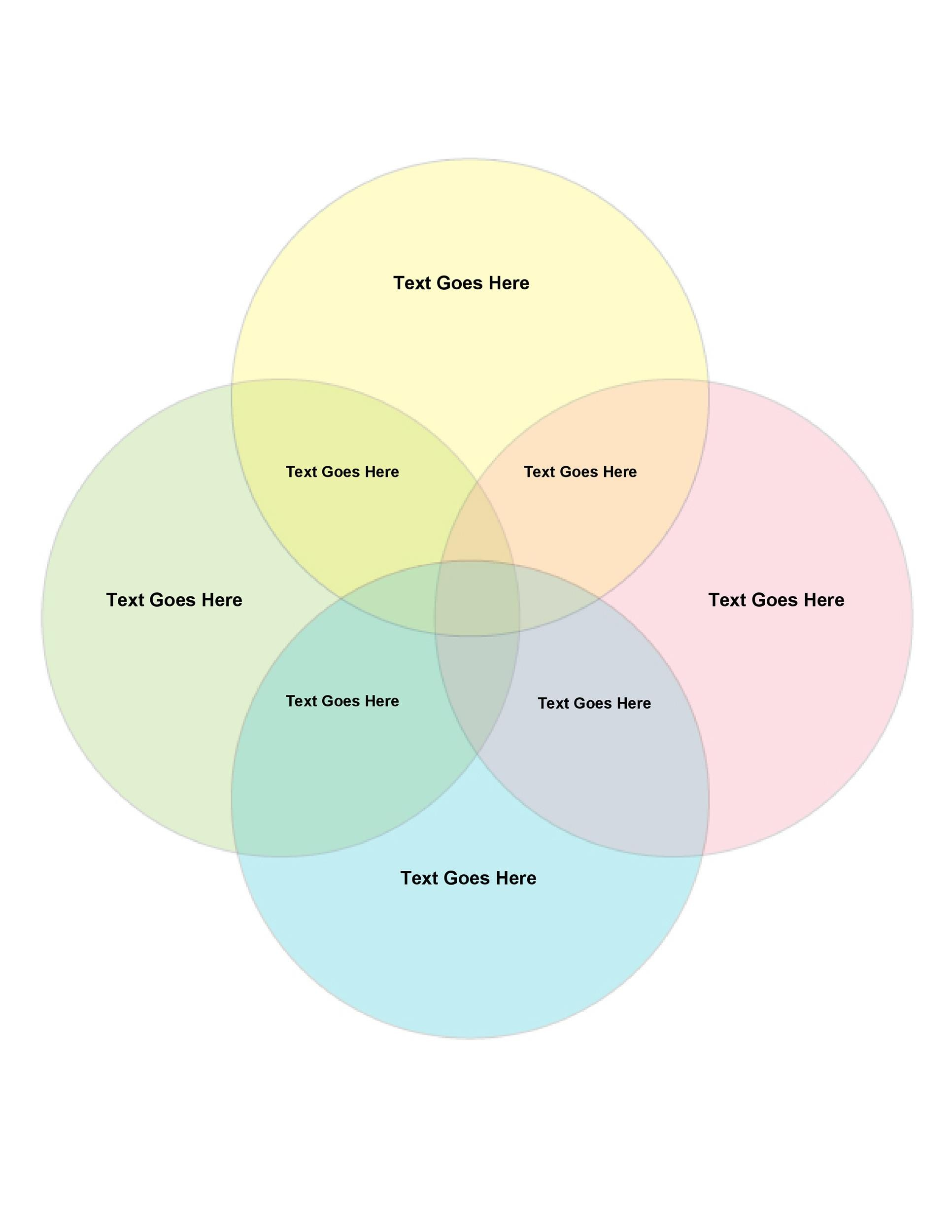 Free venn diagram template  13
