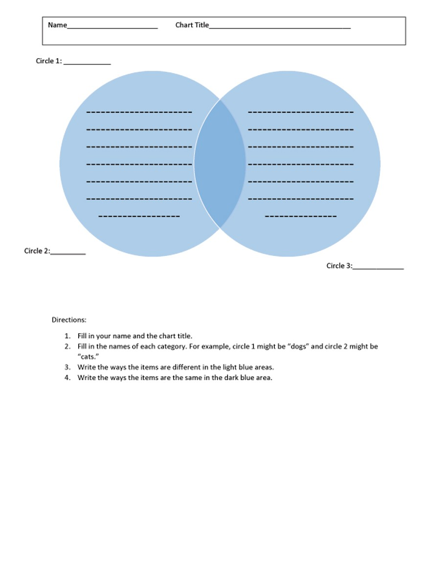 Free venn diagram template  14