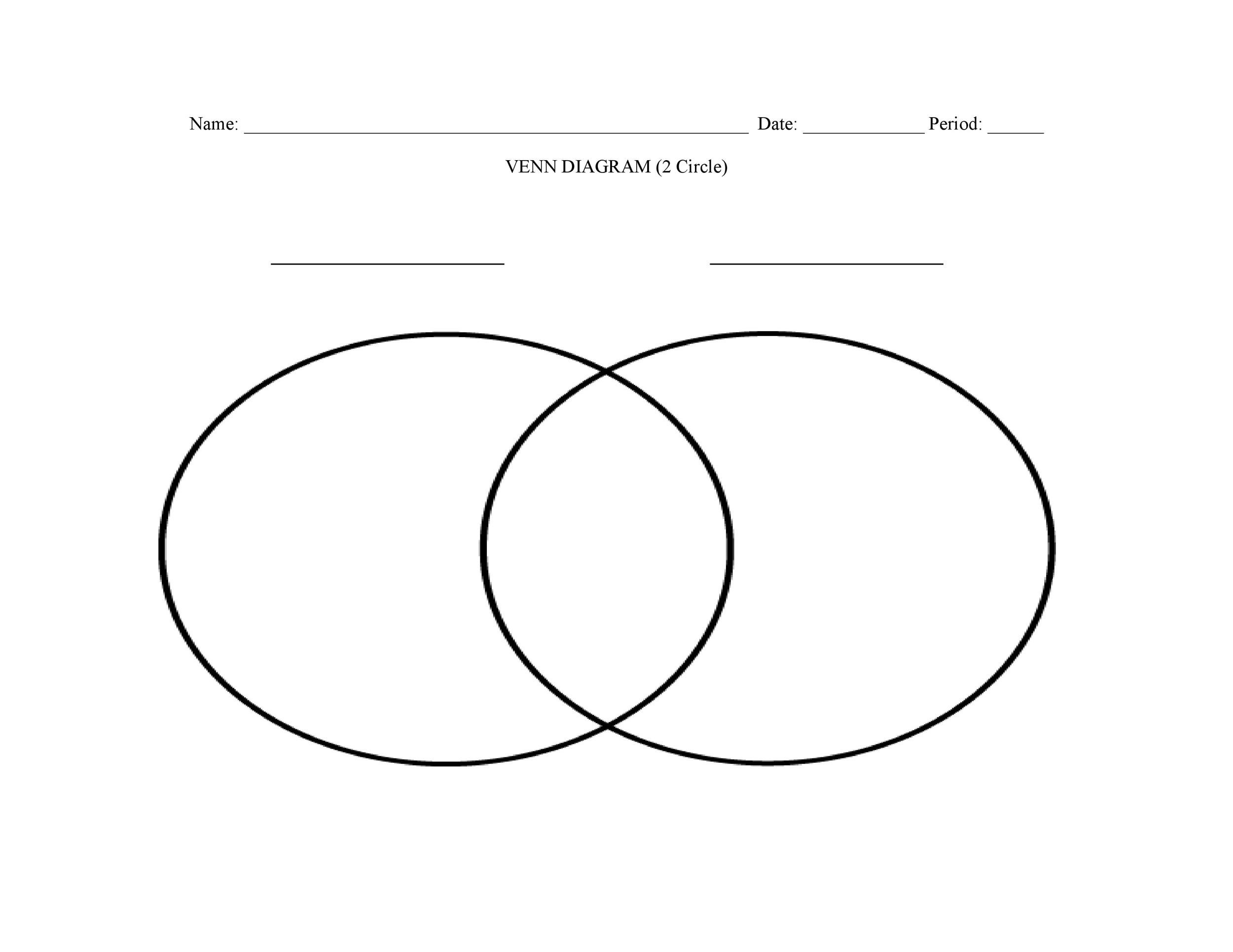 40 Free Venn Diagram Templates Word Pdf Template Lab