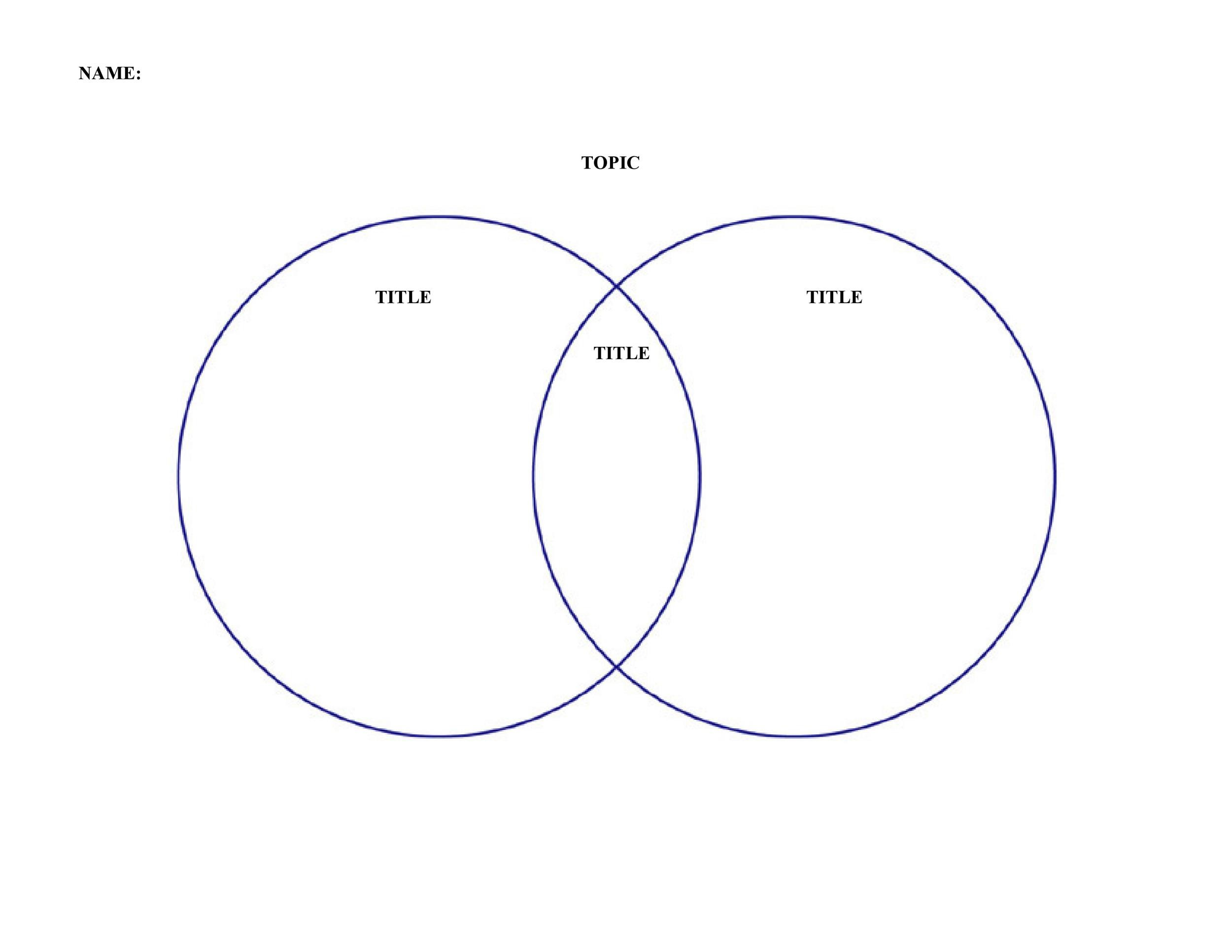 Editable Venn Diagram Word Zohre Horizonconsulting Co