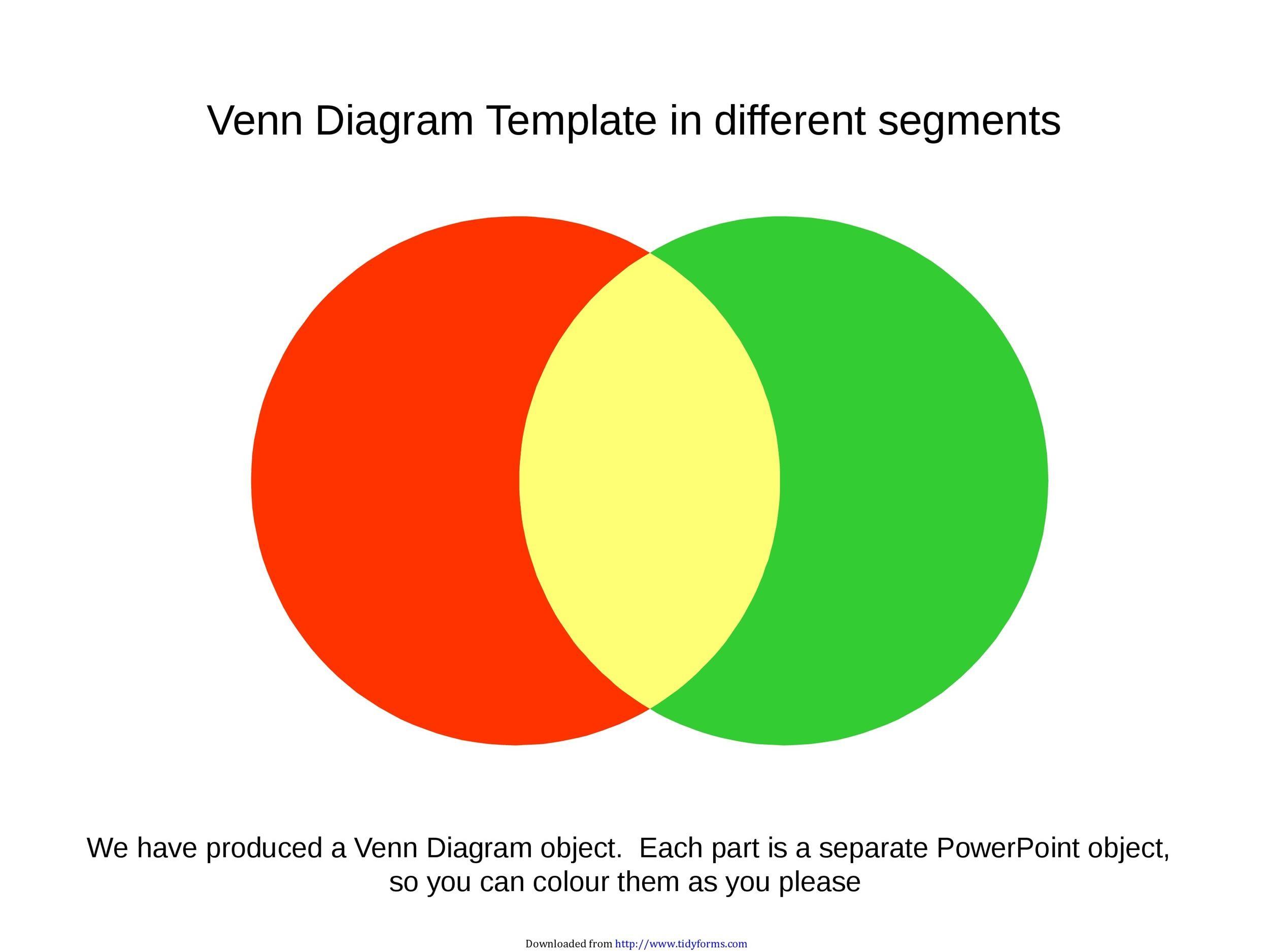 Free venn diagram template 31
