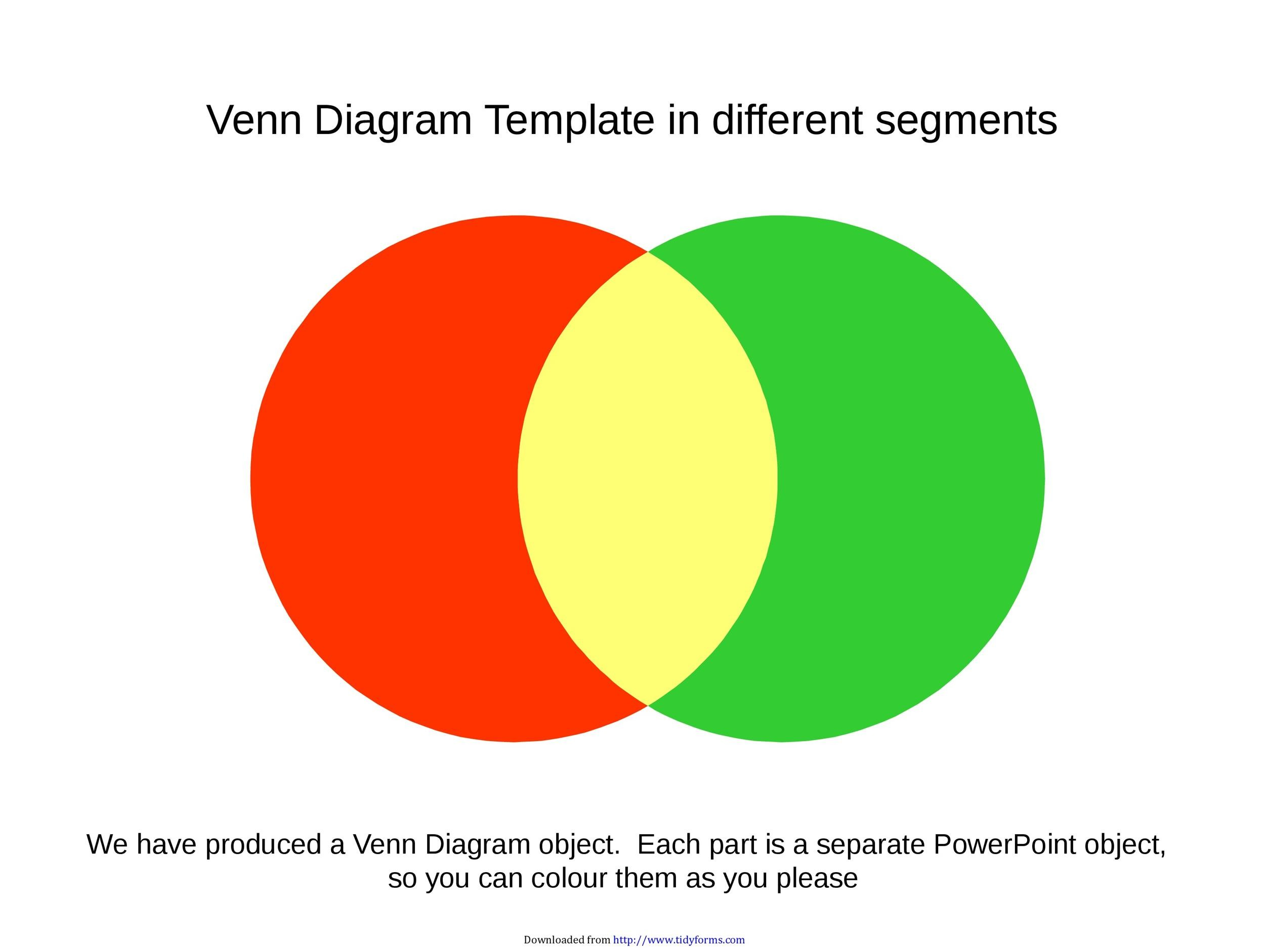 Free venn diagram template 31