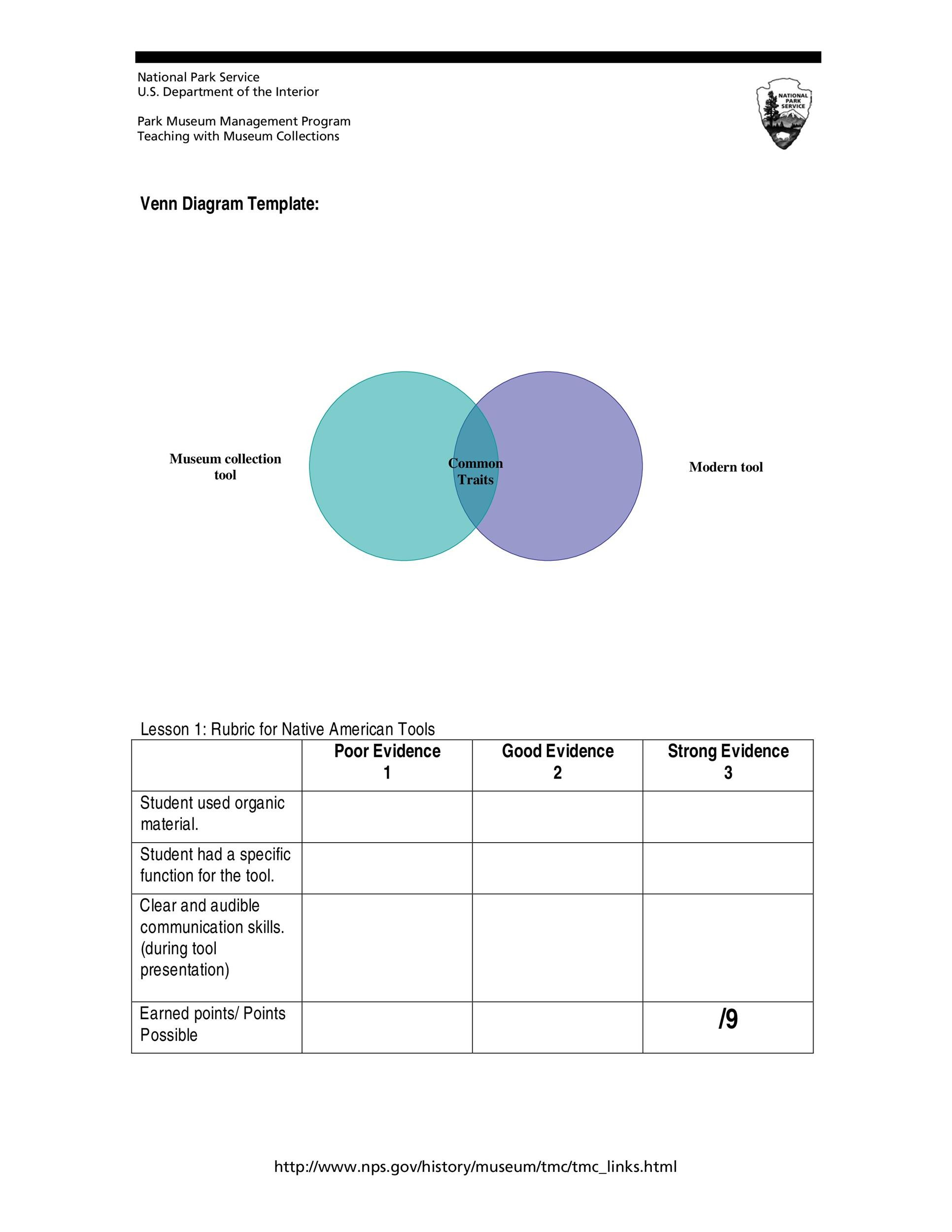 Free venn diagram template 33