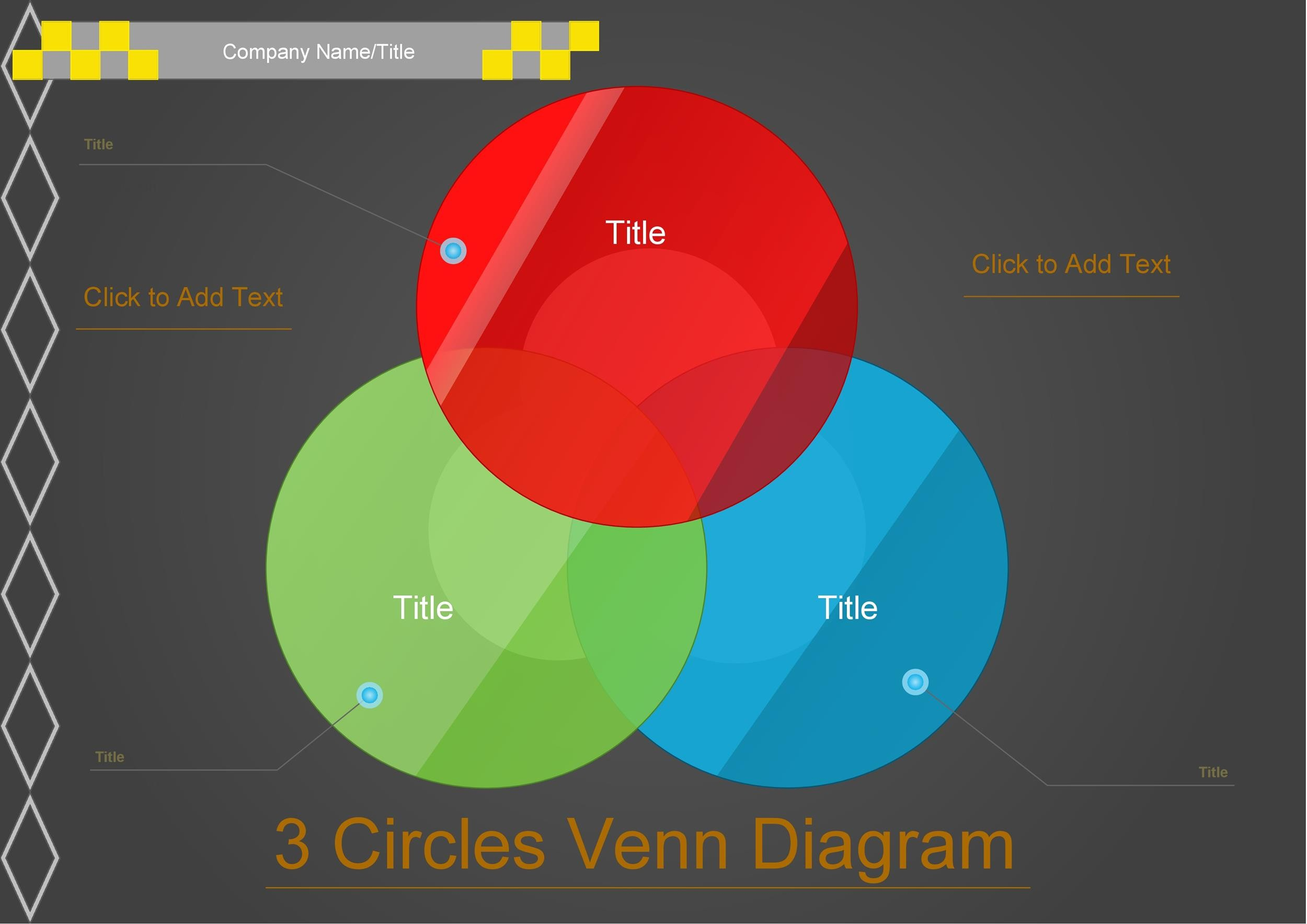 Free venn diagram template 40