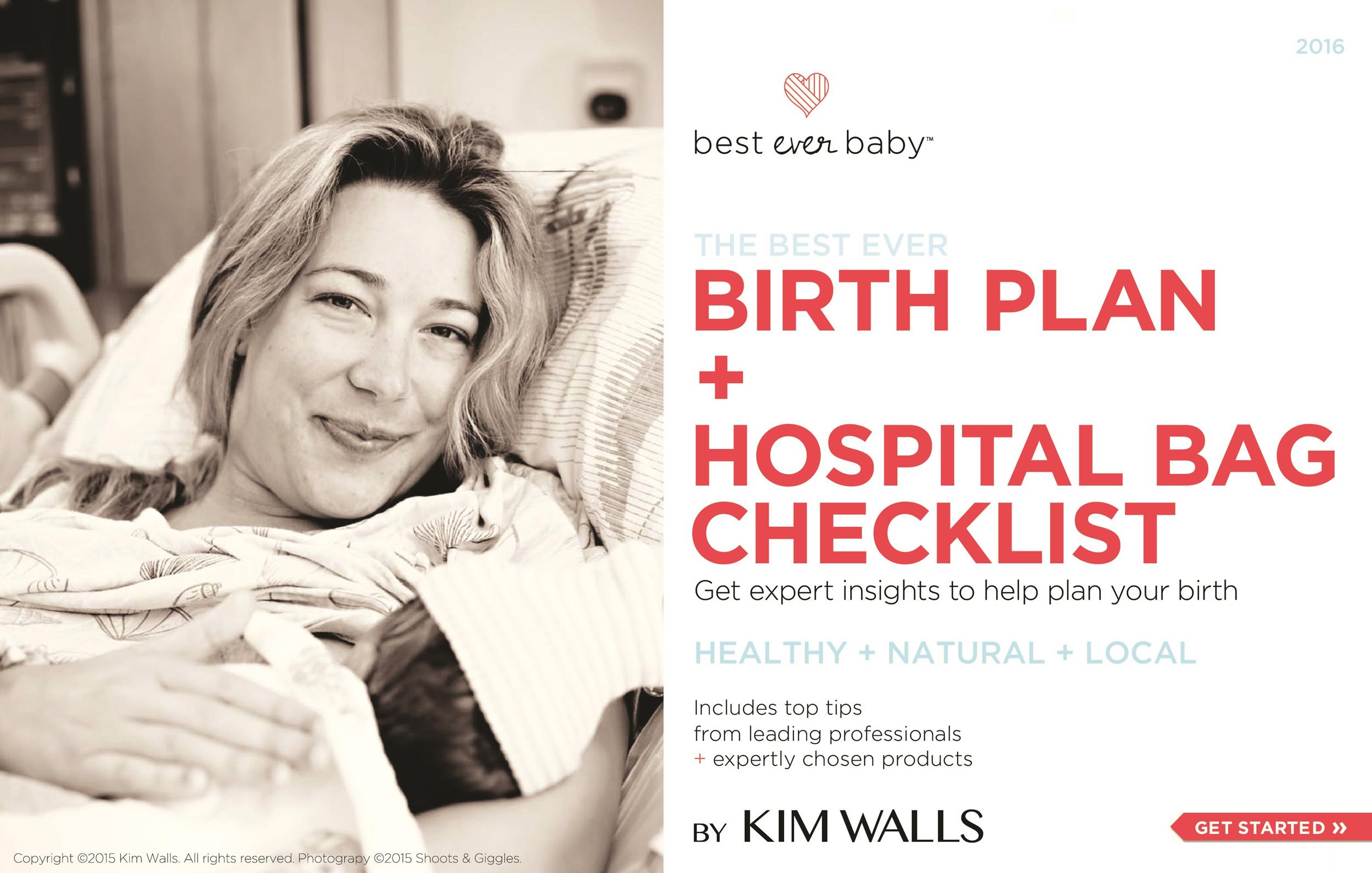 Free Birth Plan Template 34