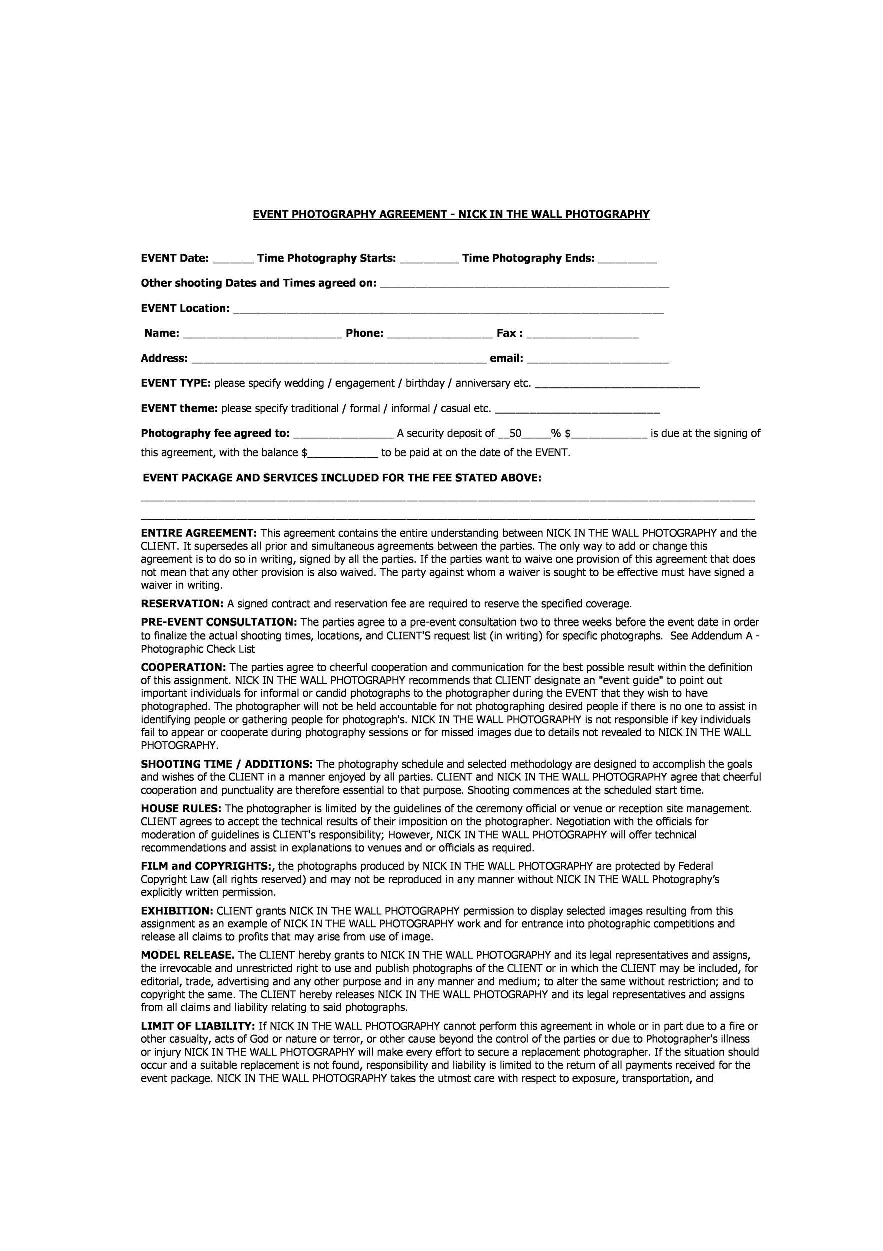 Free Contract Template 32