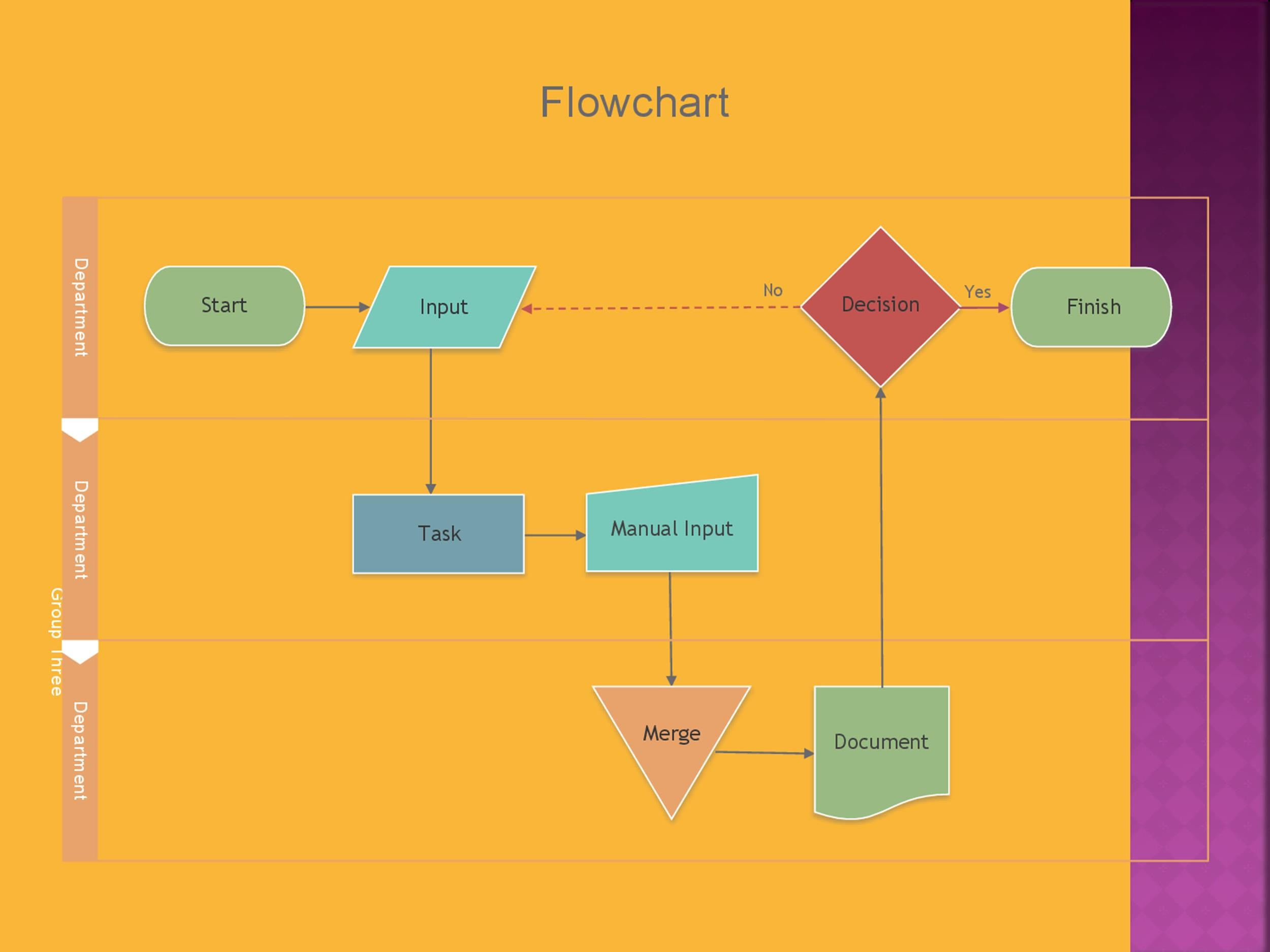 Free Flow Chart Template 02