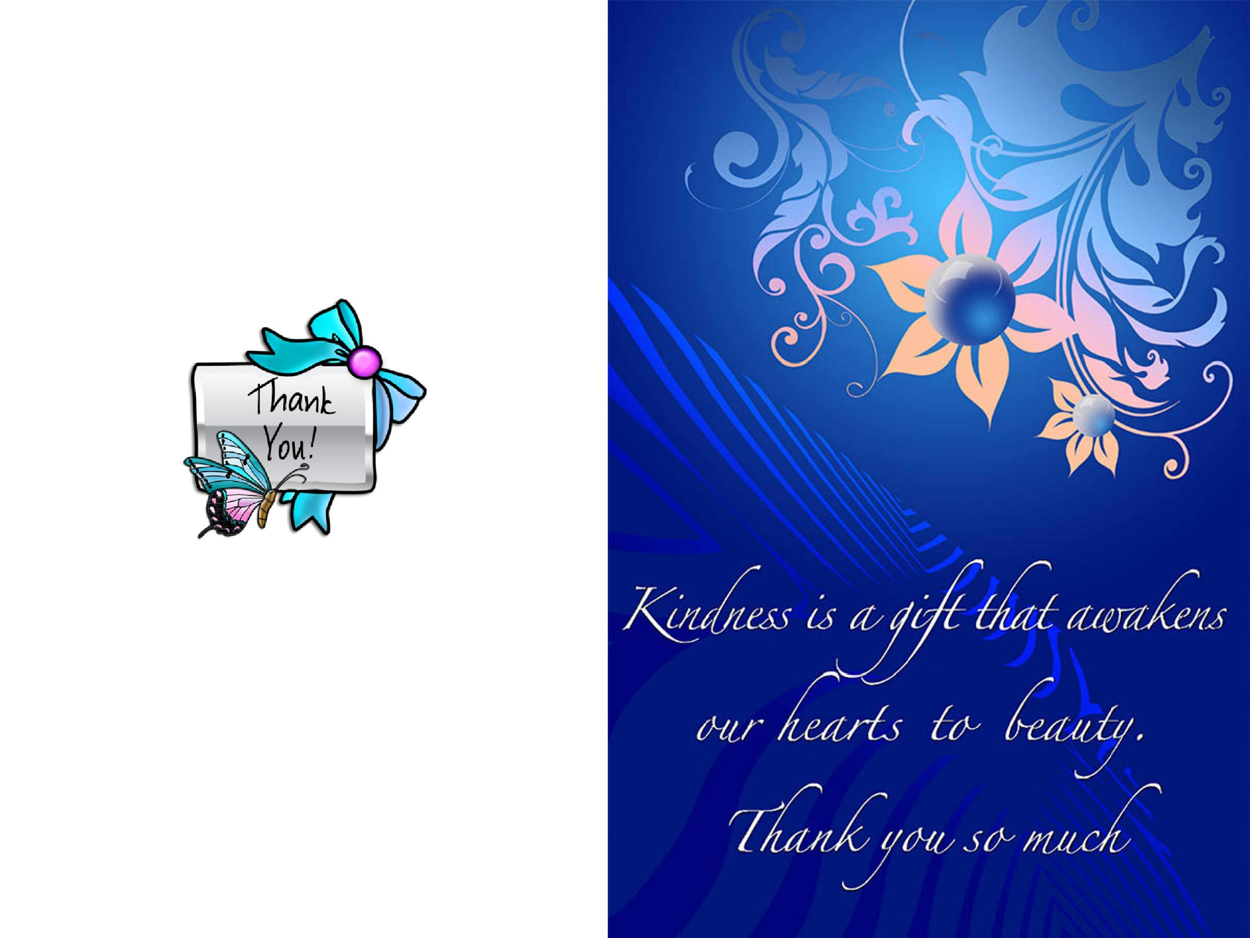 Ridiculous image with regard to printable thank you card templates