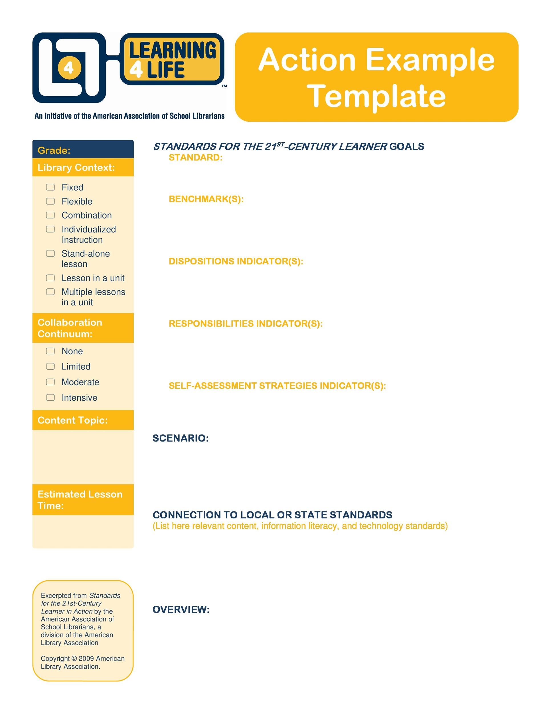Free Action plan template 02