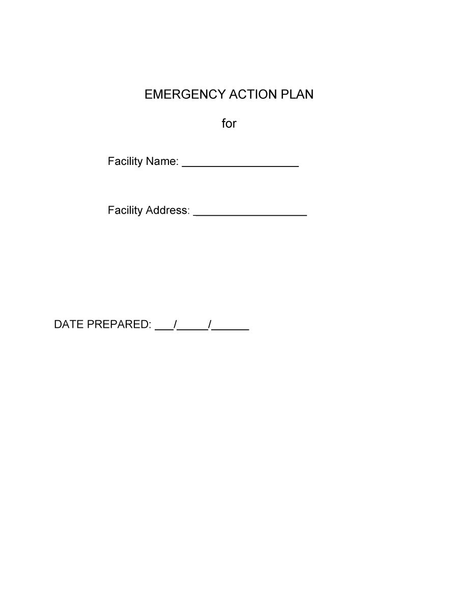 Free Action plan template 39