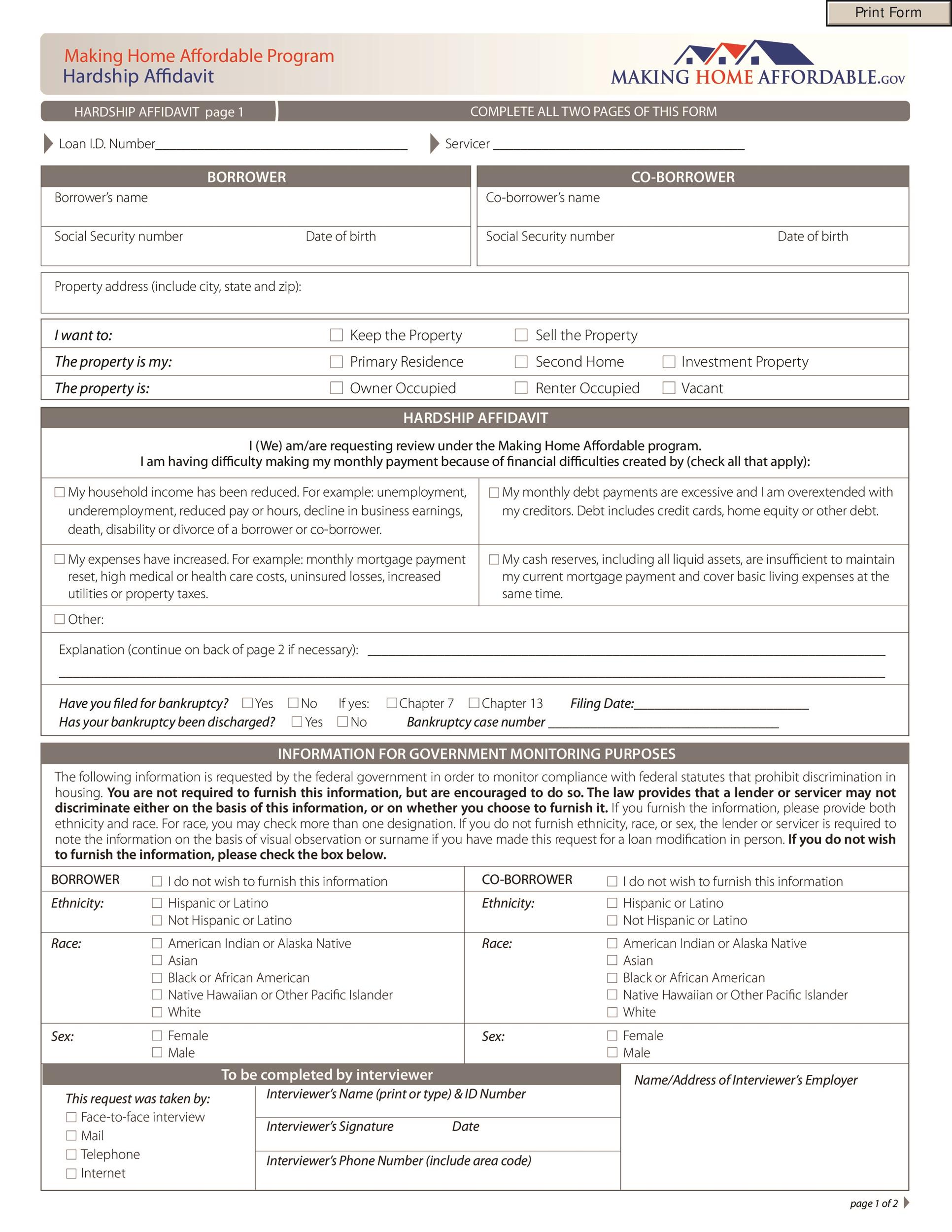 48 Sample Affidavit Forms Templates Affidavit of Support Form – Affidavit of Support Form
