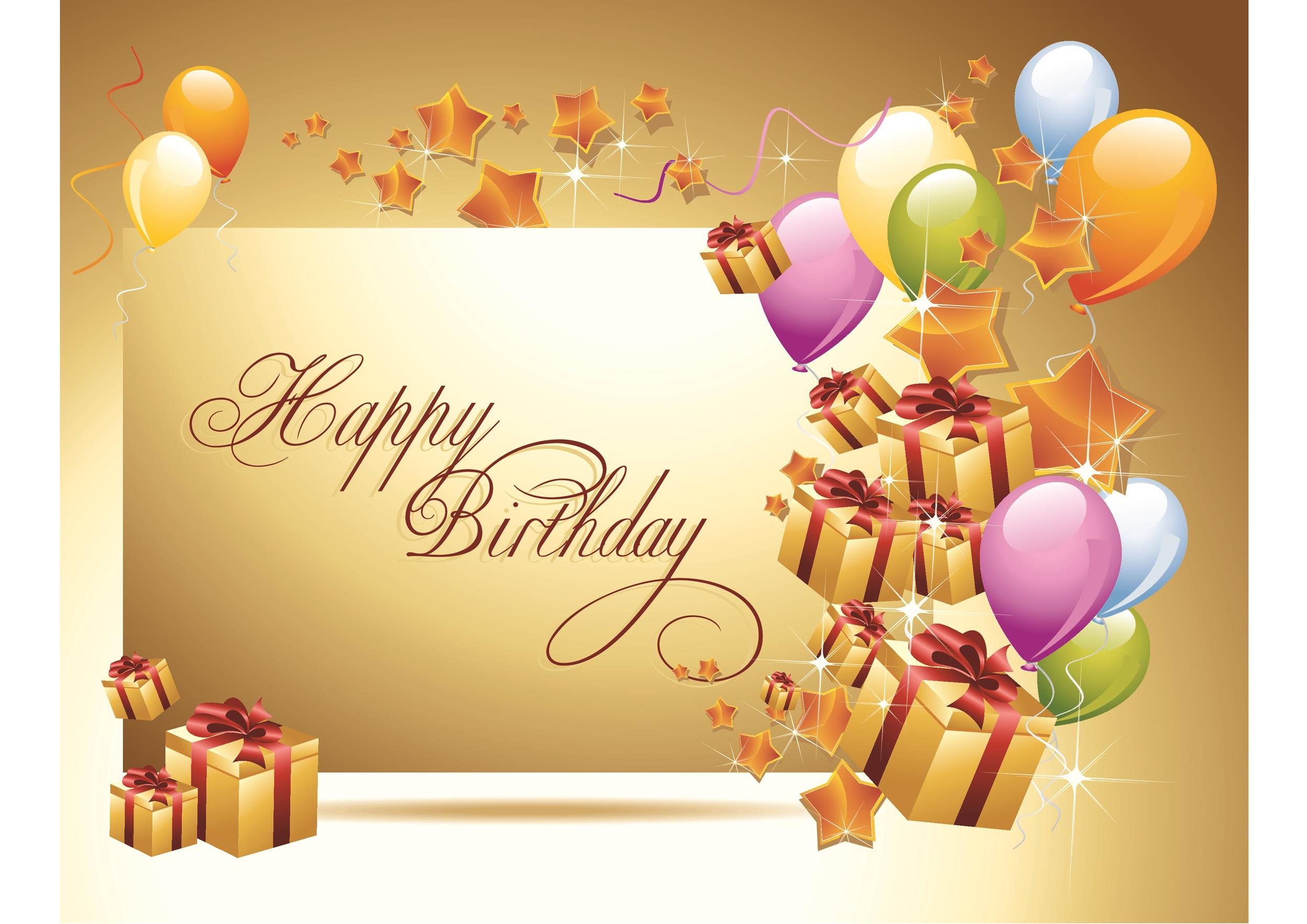 Free birthday card template 01