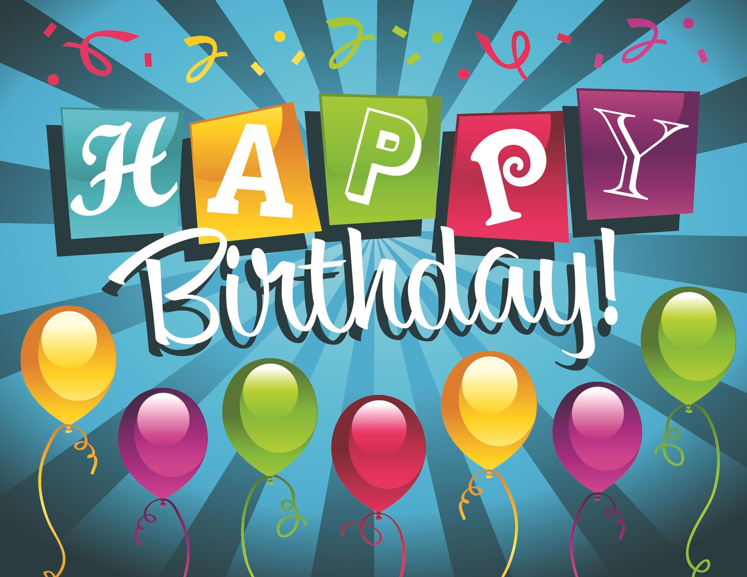 Free birthday card template 06