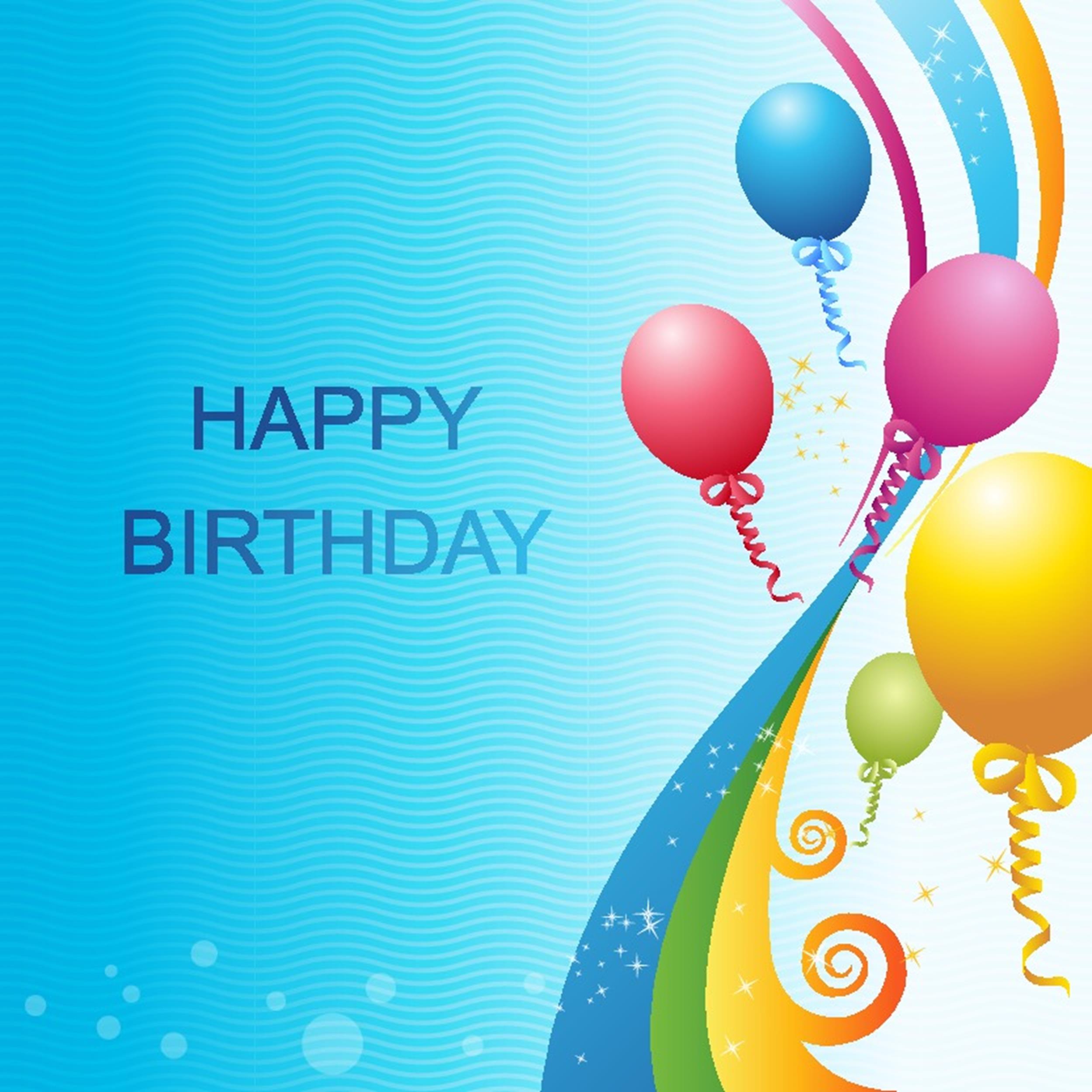 Free birthday card template 12
