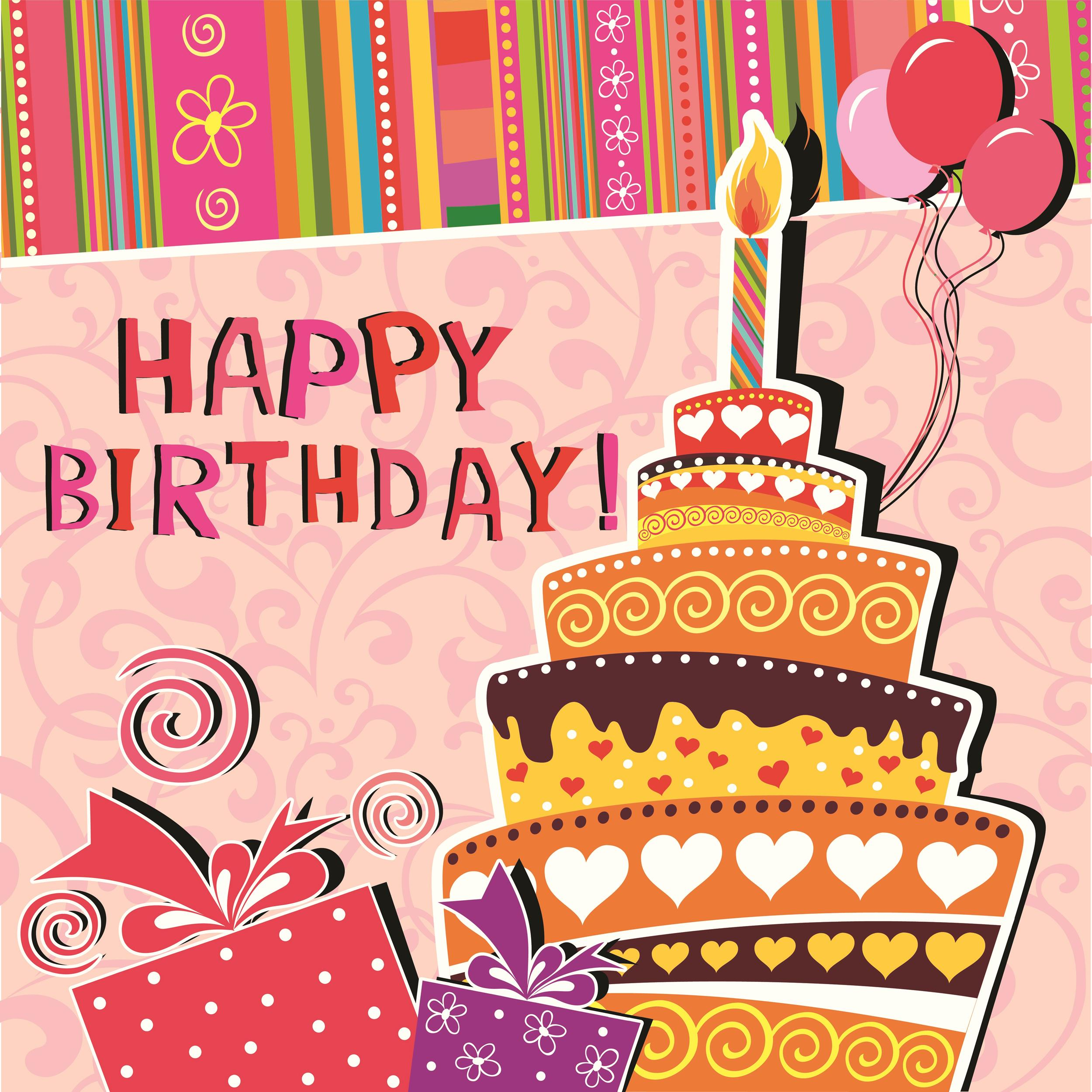 Free Birthday Card Template 23