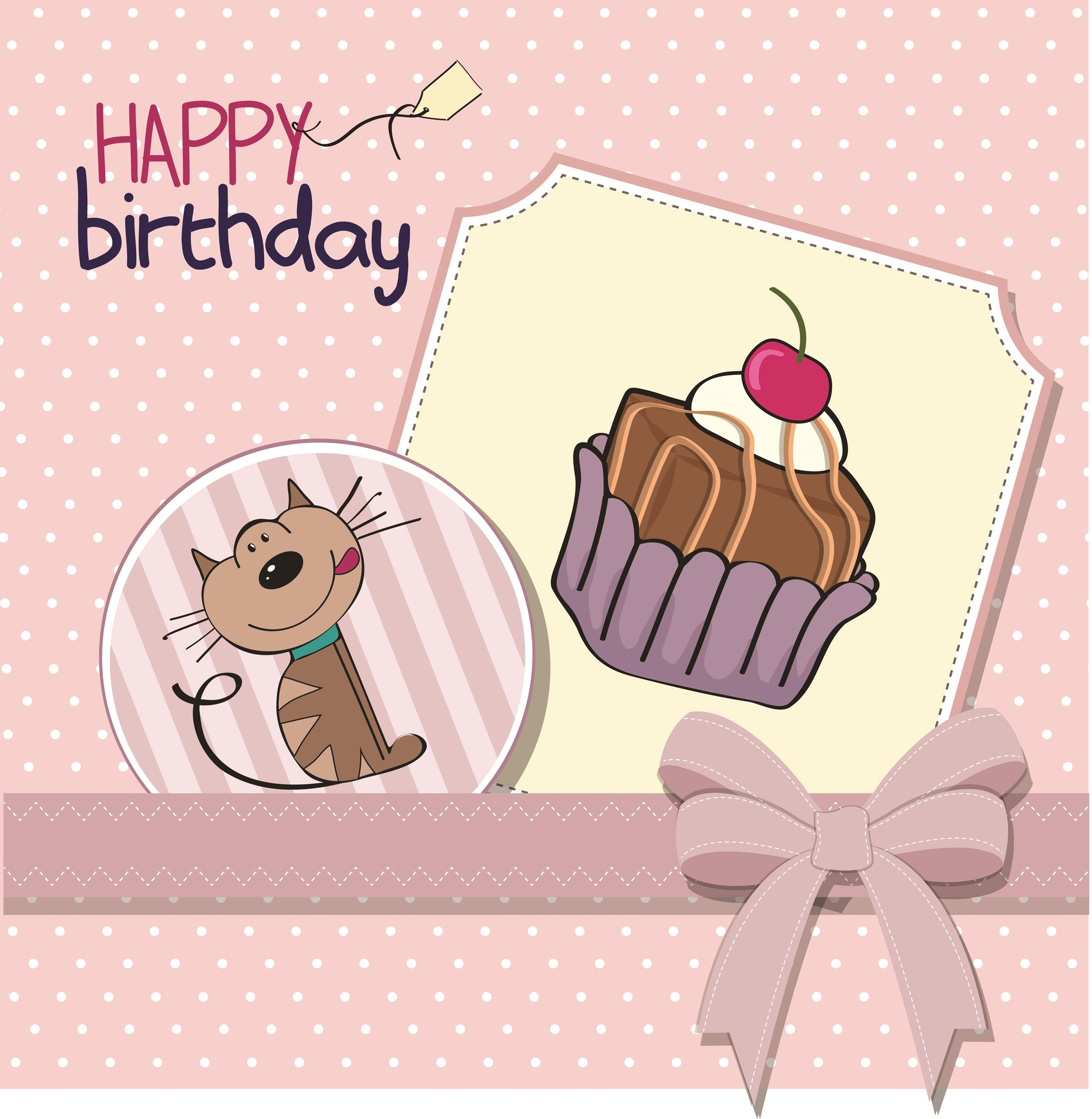 Free birthday card template 27