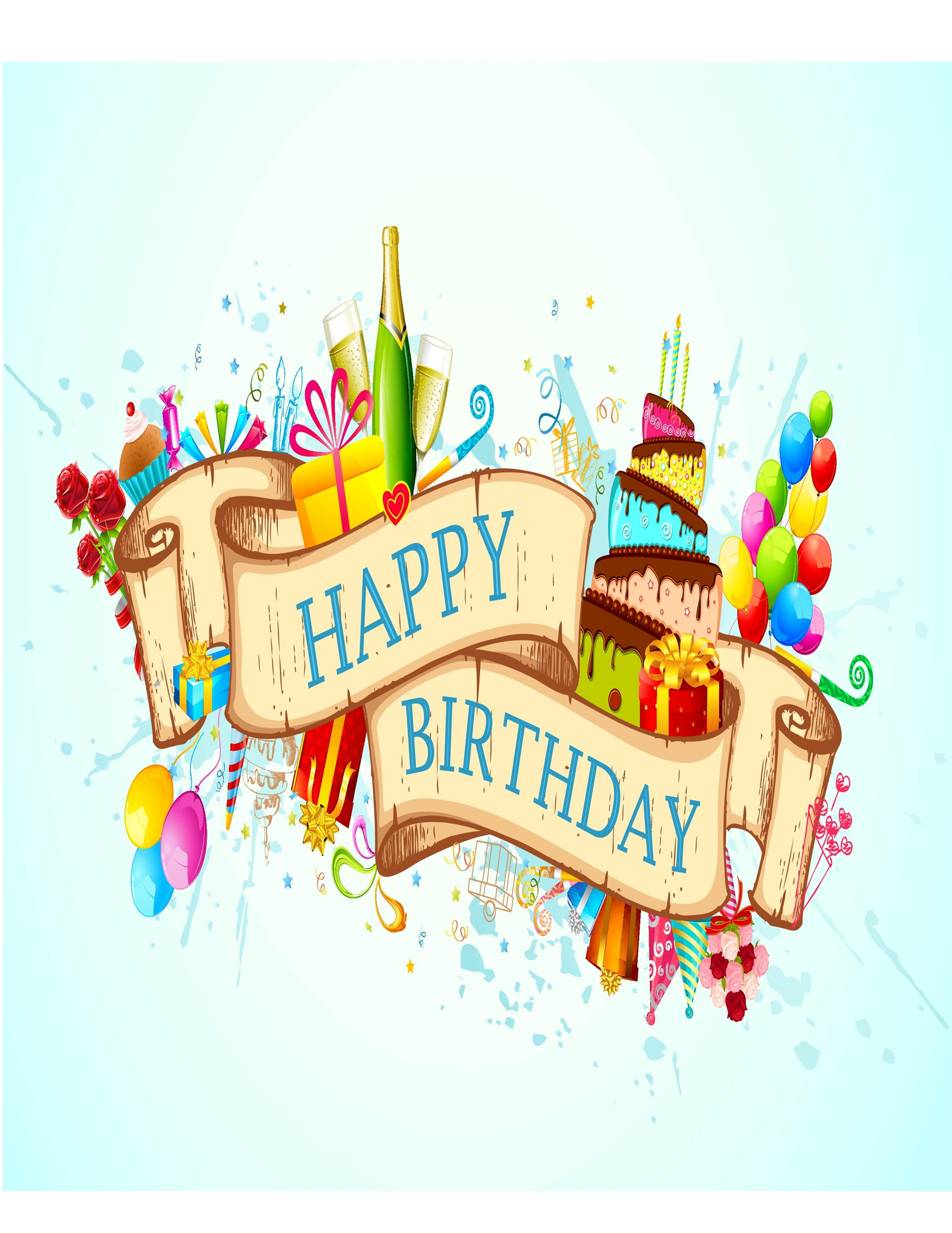 Free birthday card template 29