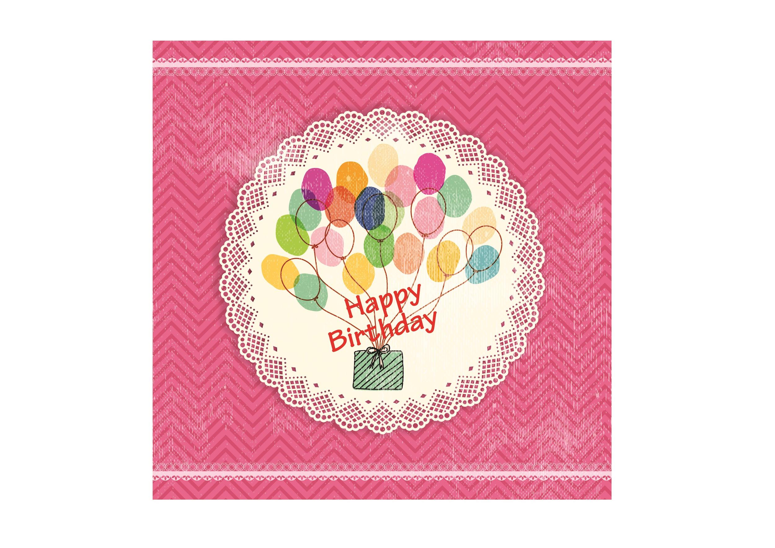 Free birthday card template 30