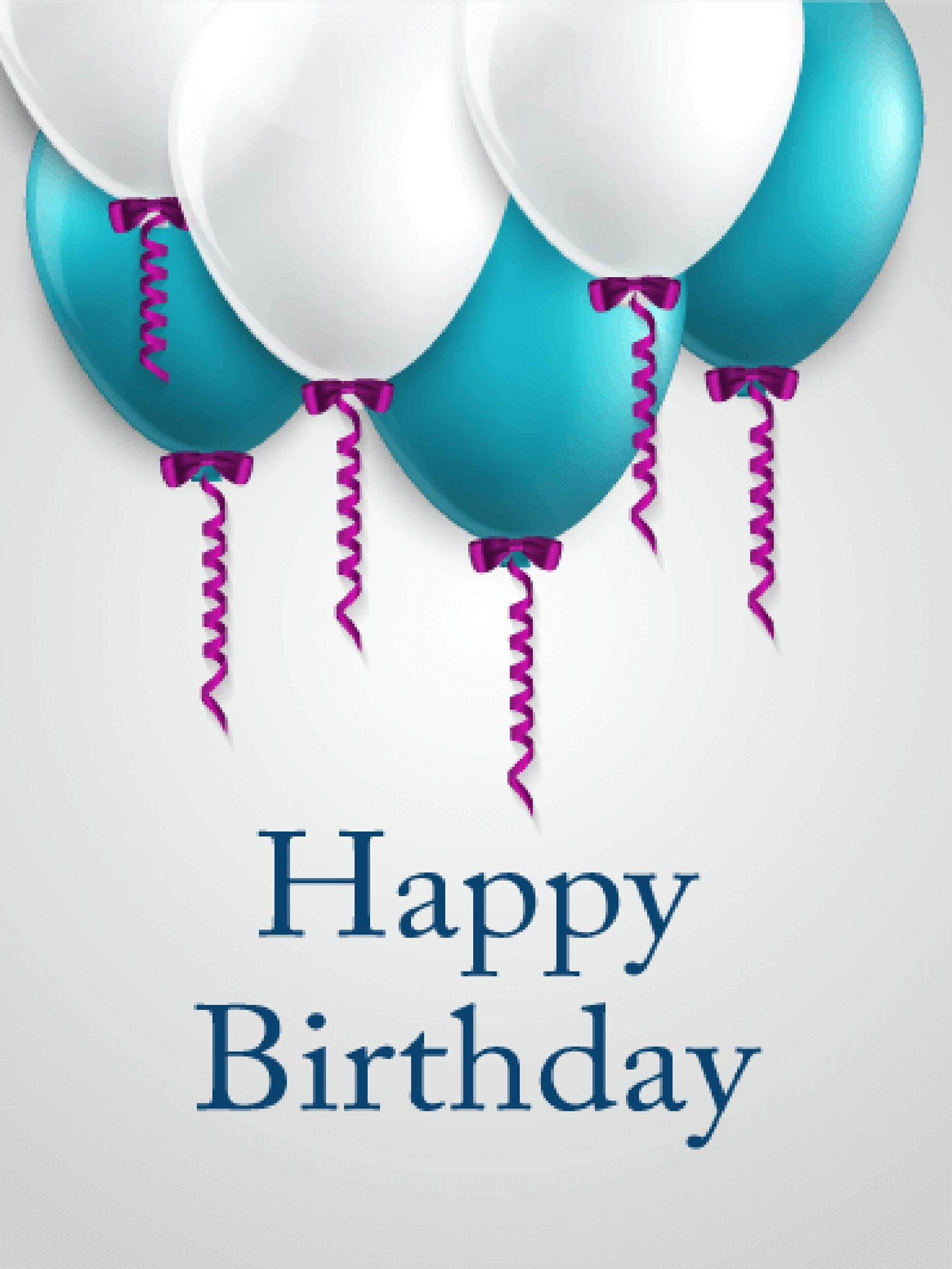Free birthday card template 34
