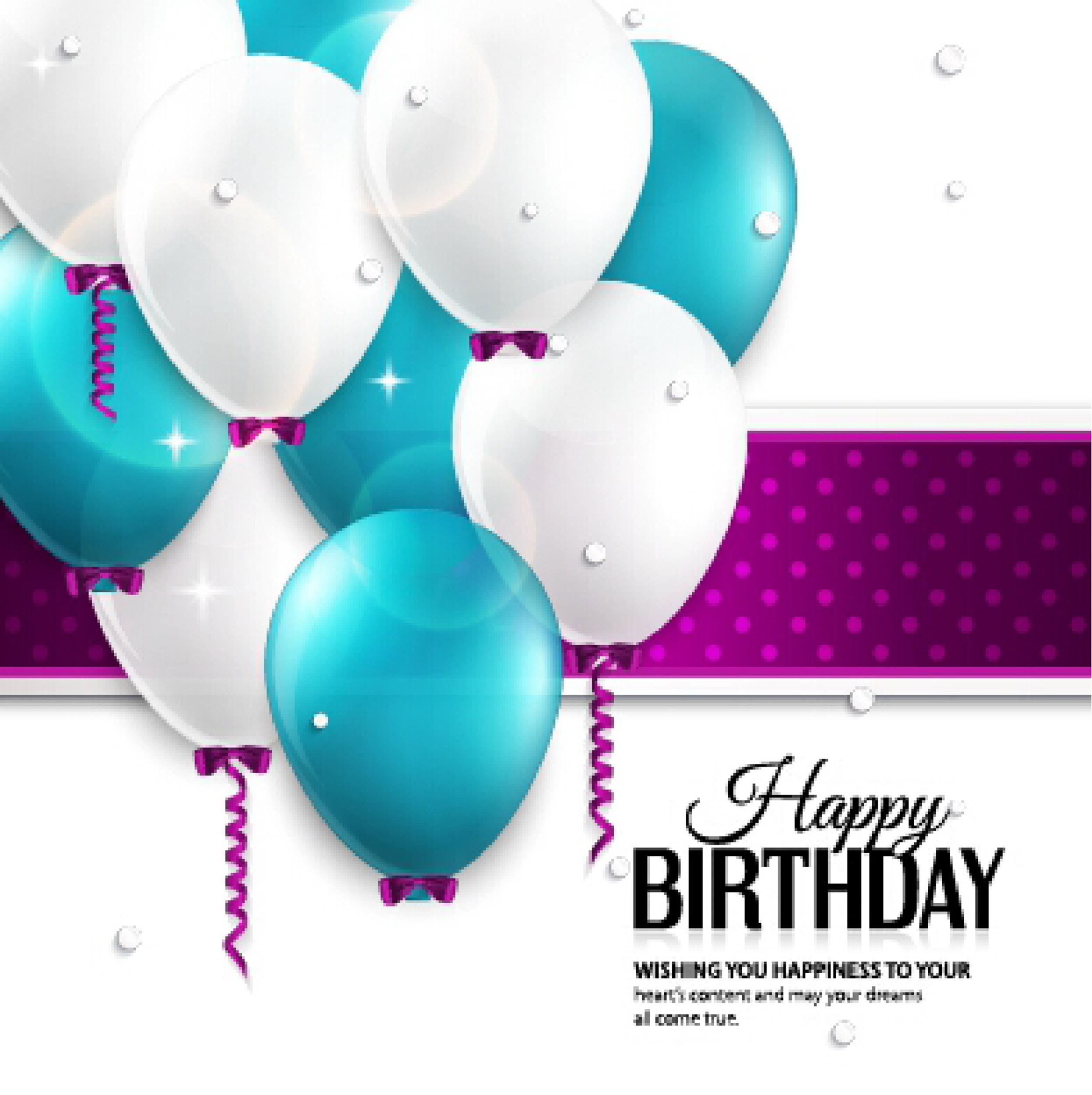 Free birthday card template 36