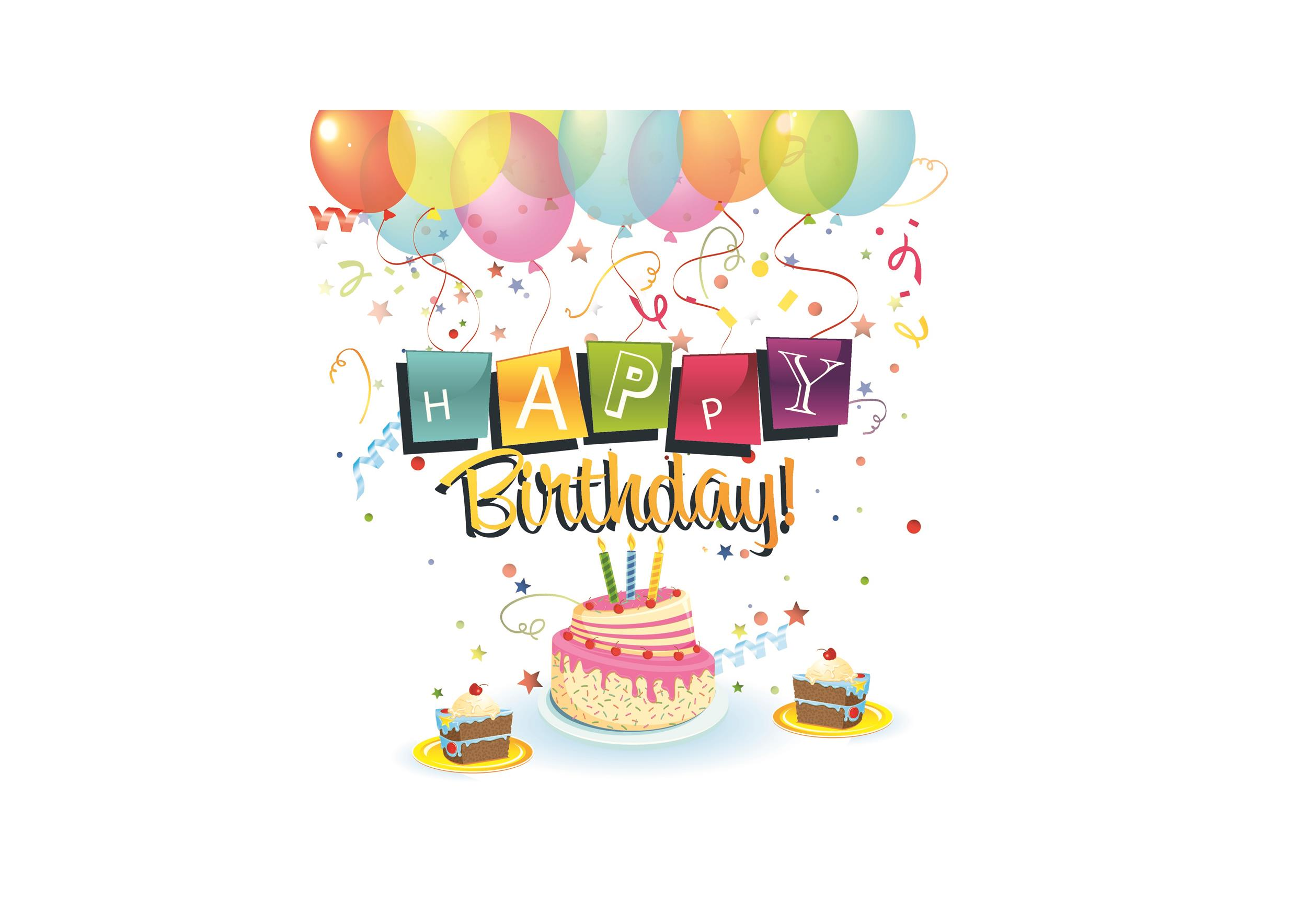 Free birthday card template 41