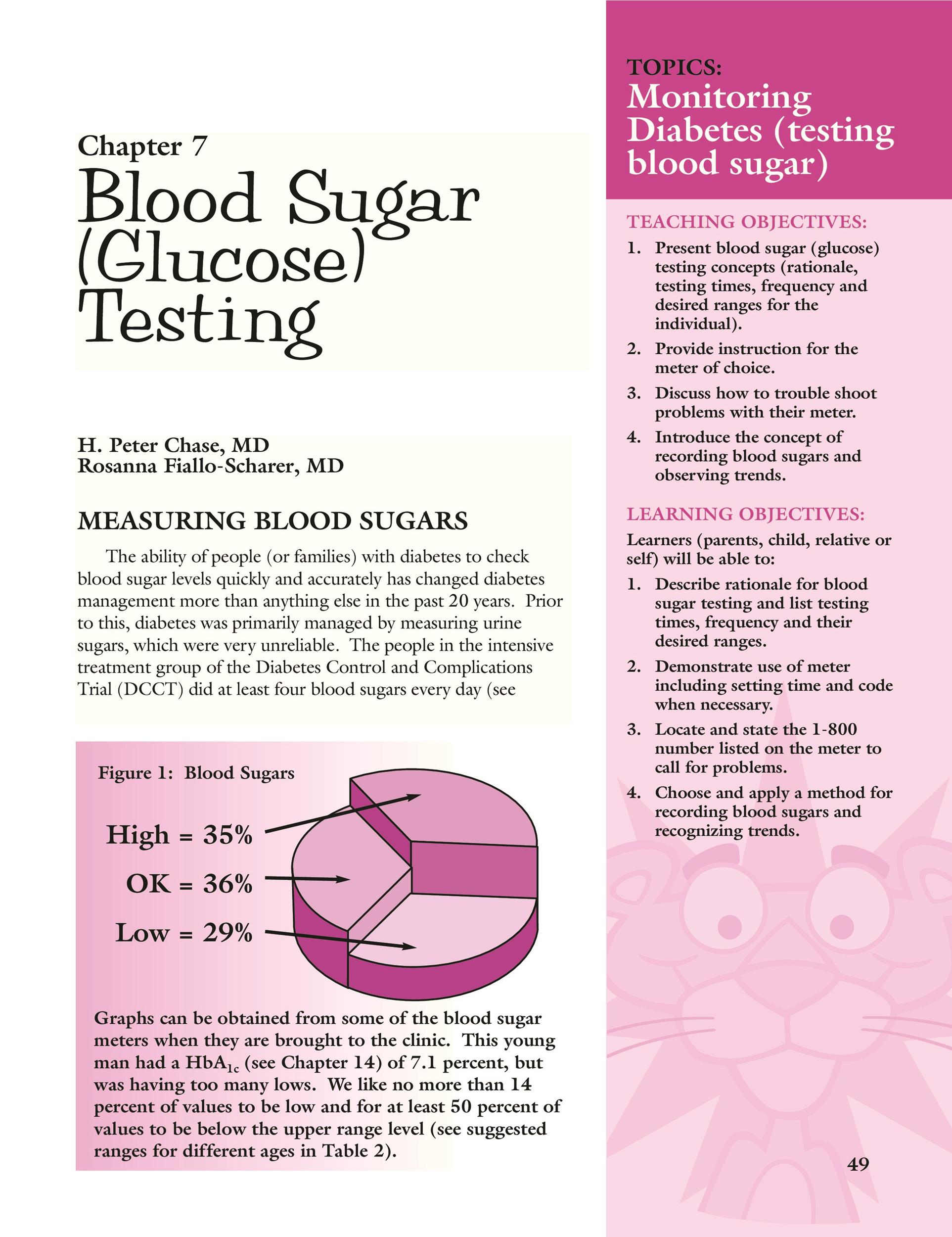 Free Blood Sugar Chart 23