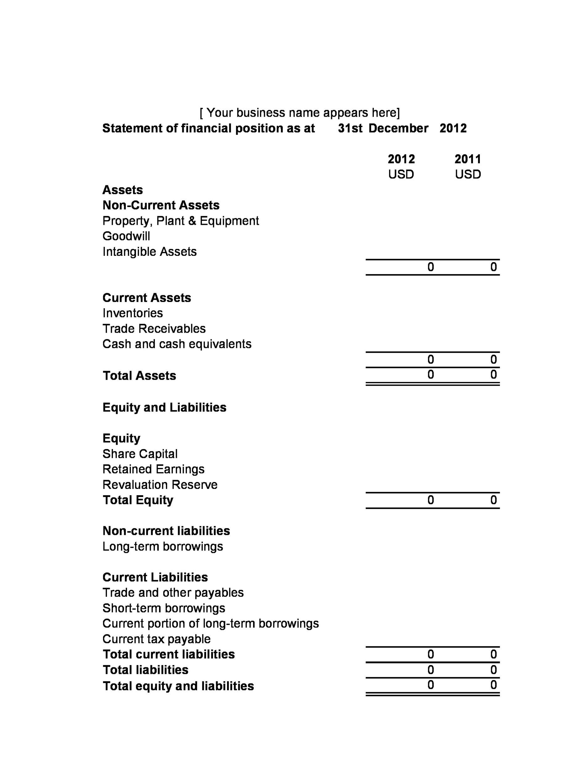 Free cash flow statement 43