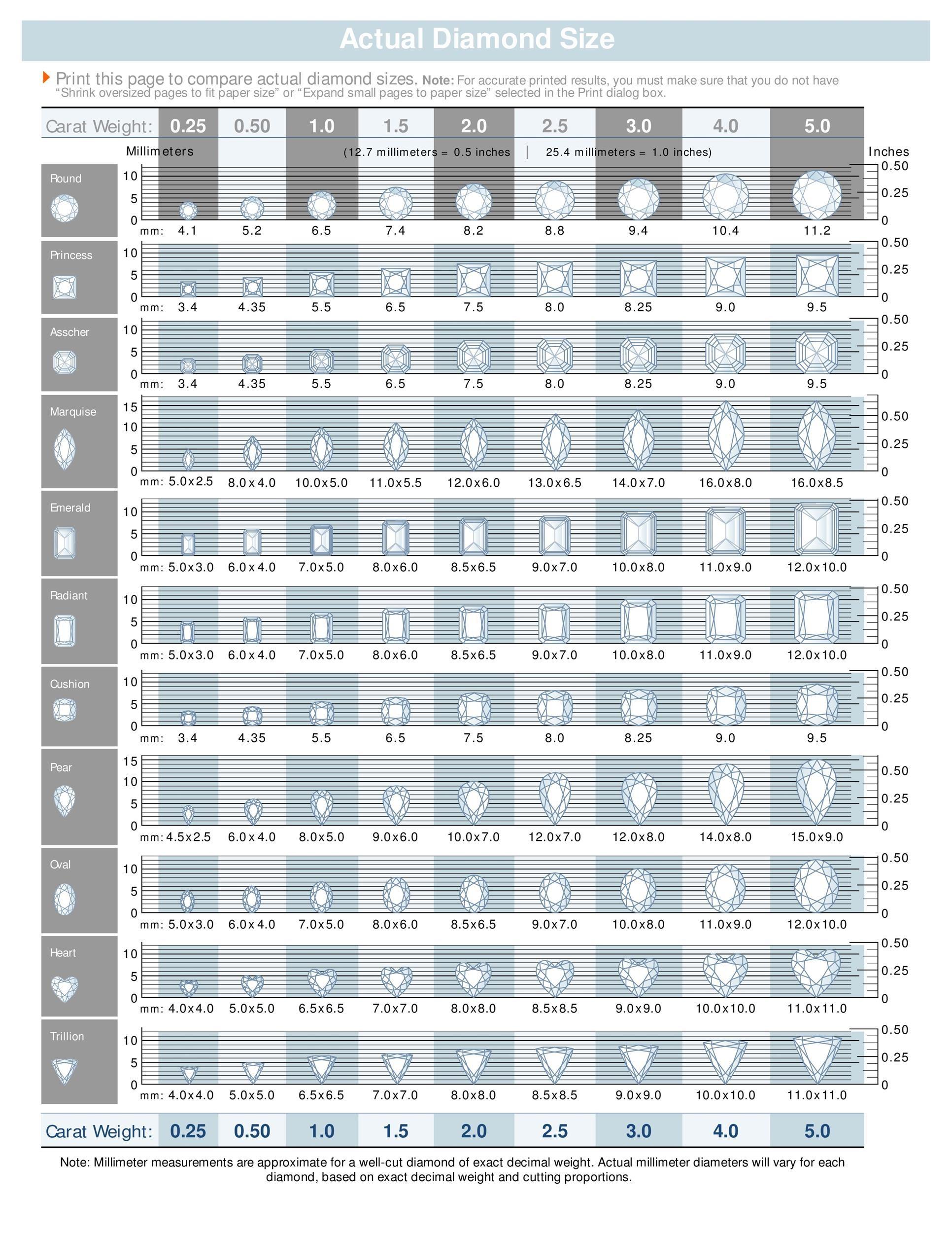 Free diamond size chart 01