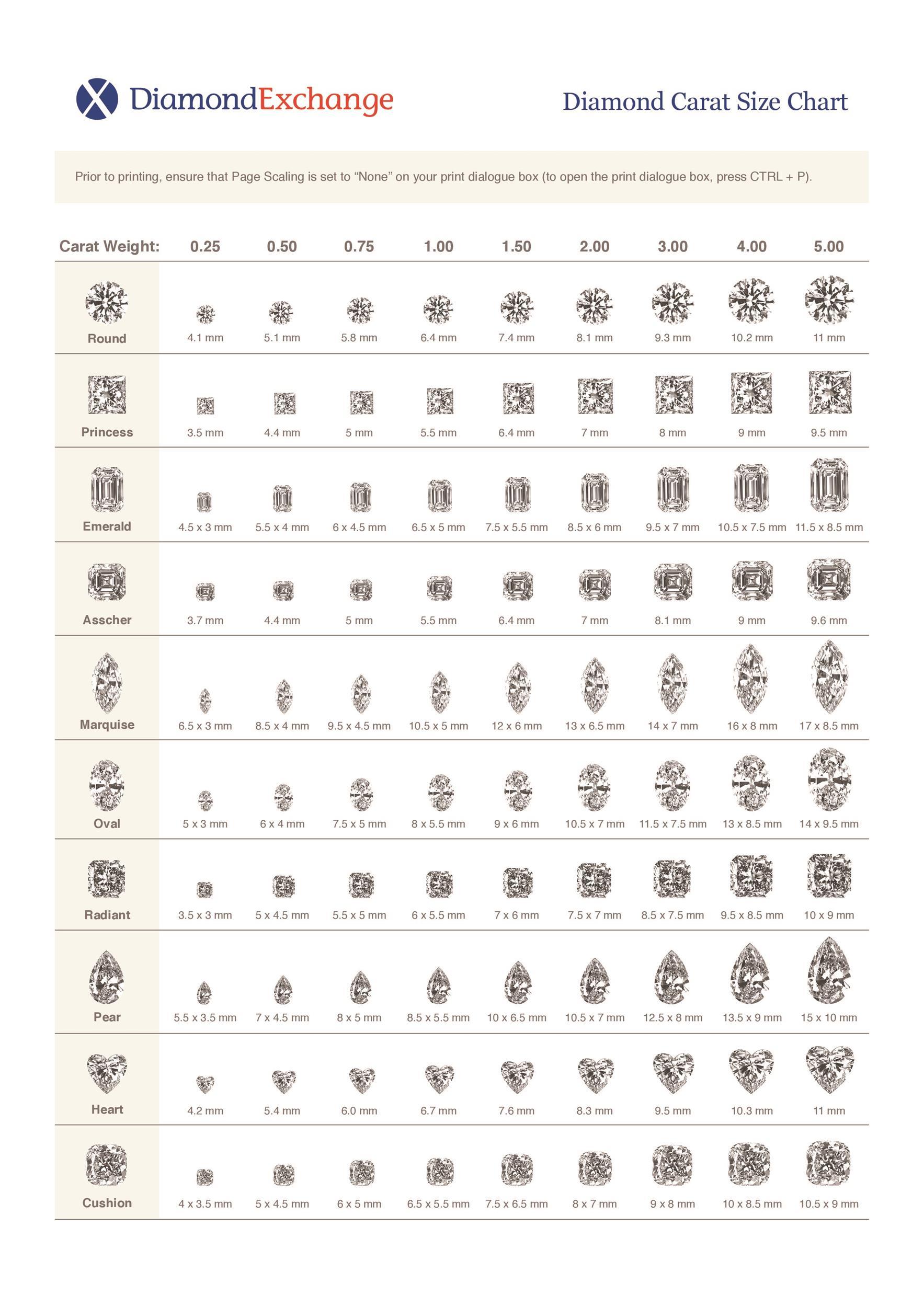 Free diamond size chart 05