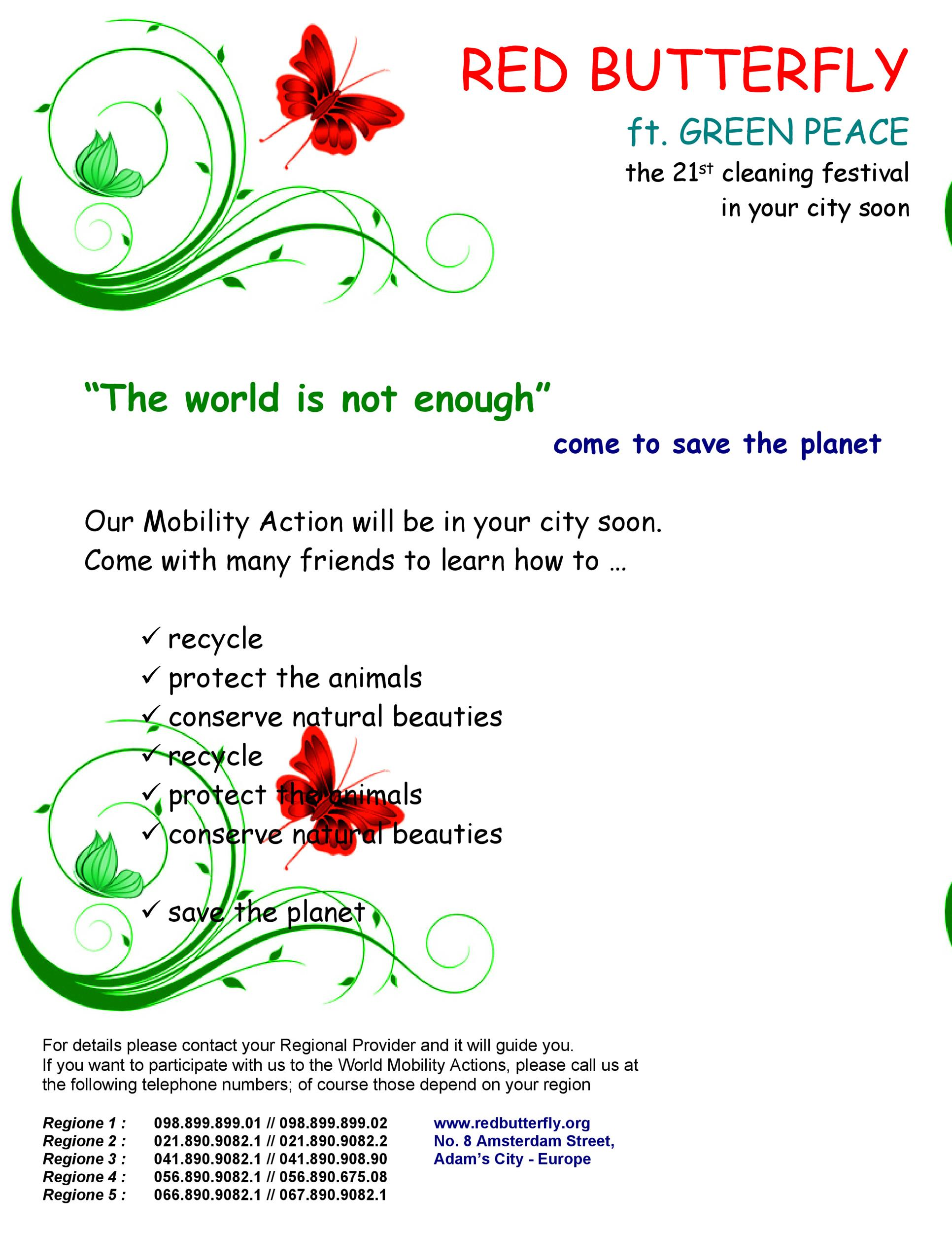 flyer document