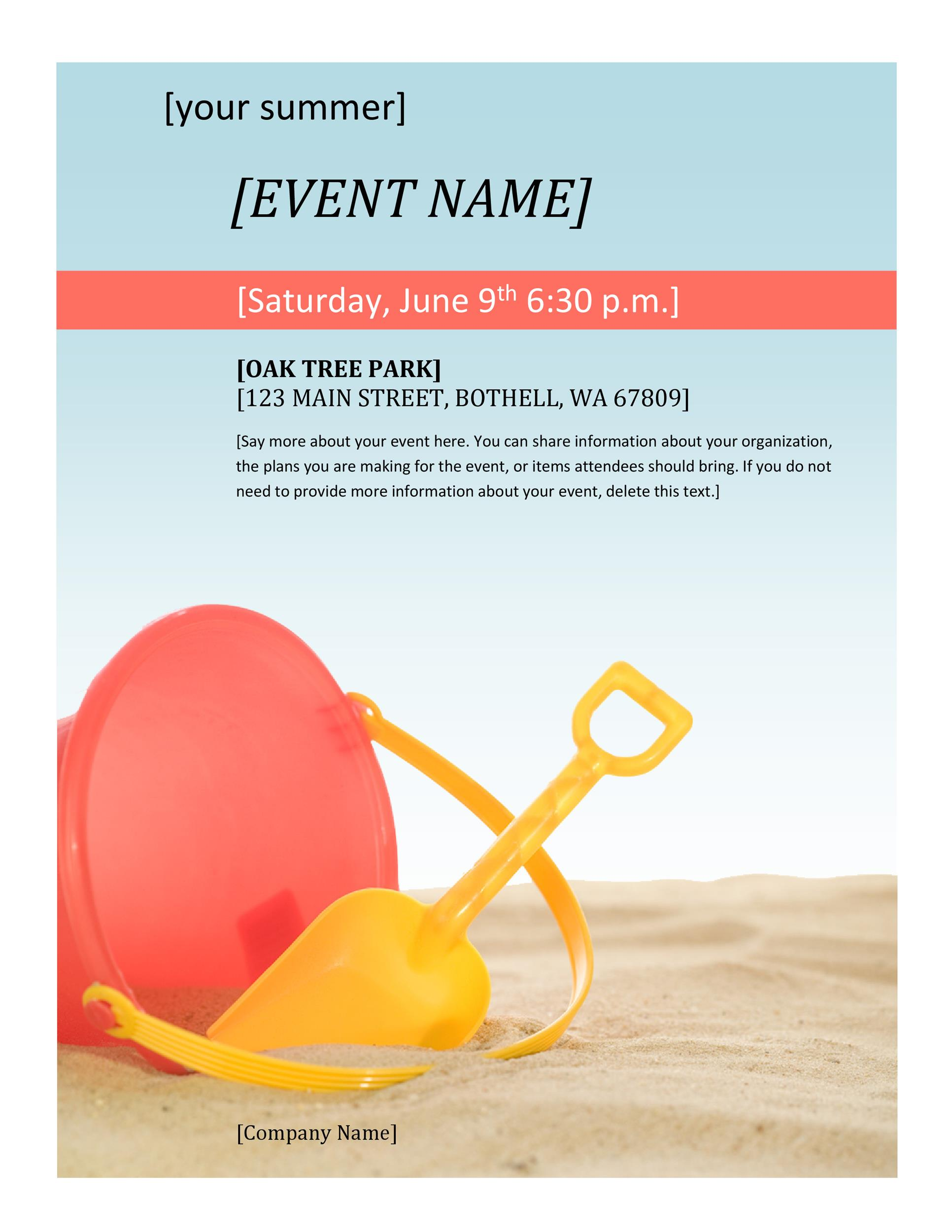 Free Flyer Template 38