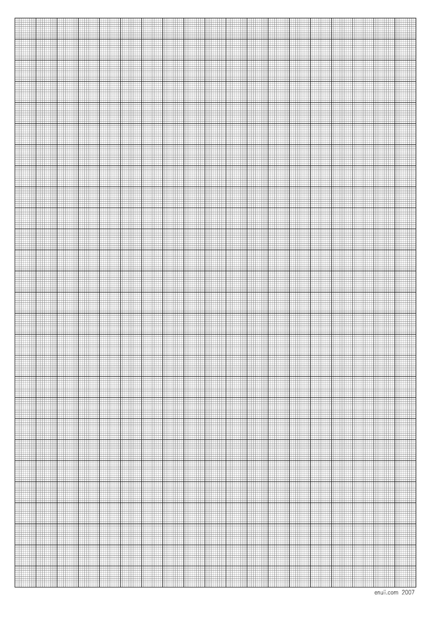 Free Graph Paper Template 02