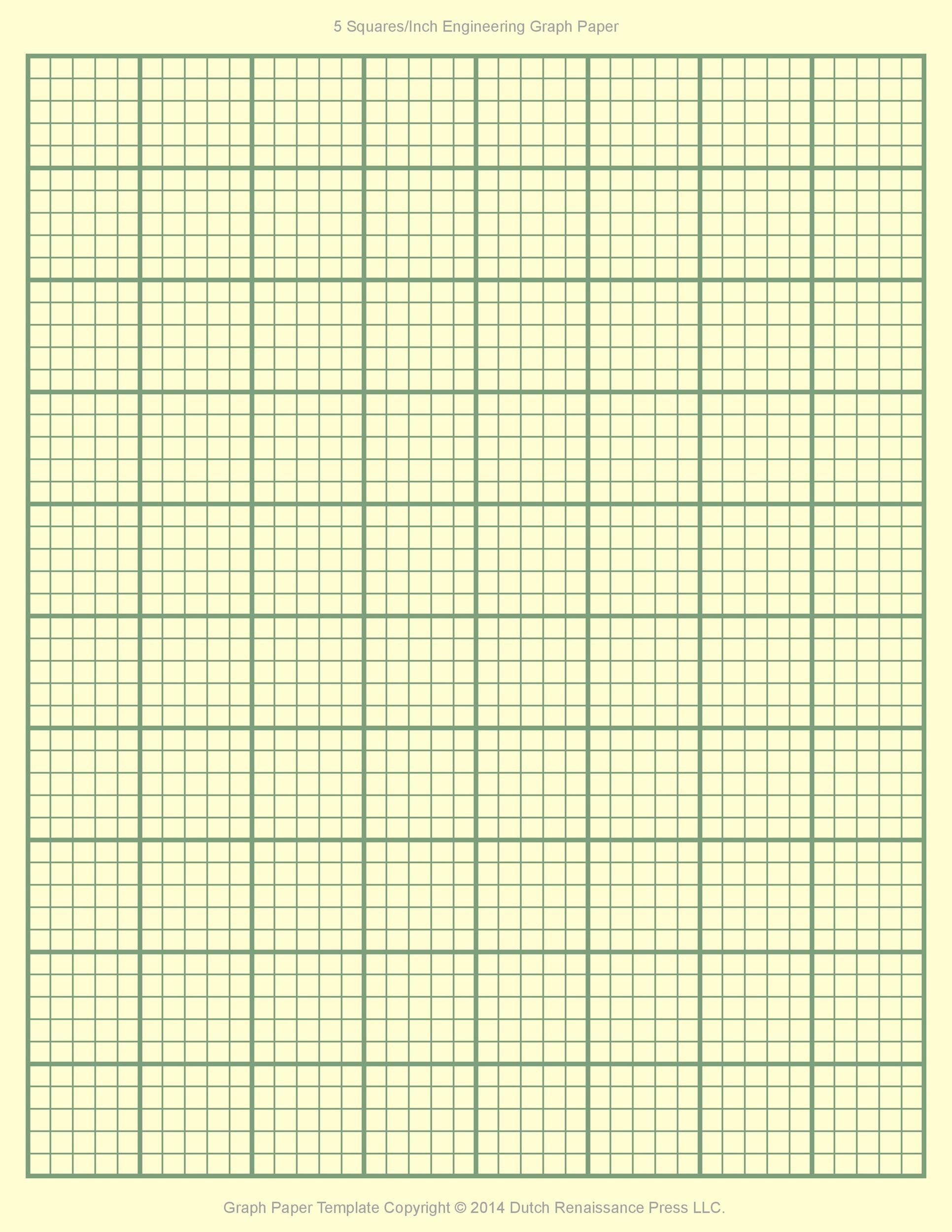 Free Graph Paper Template 06