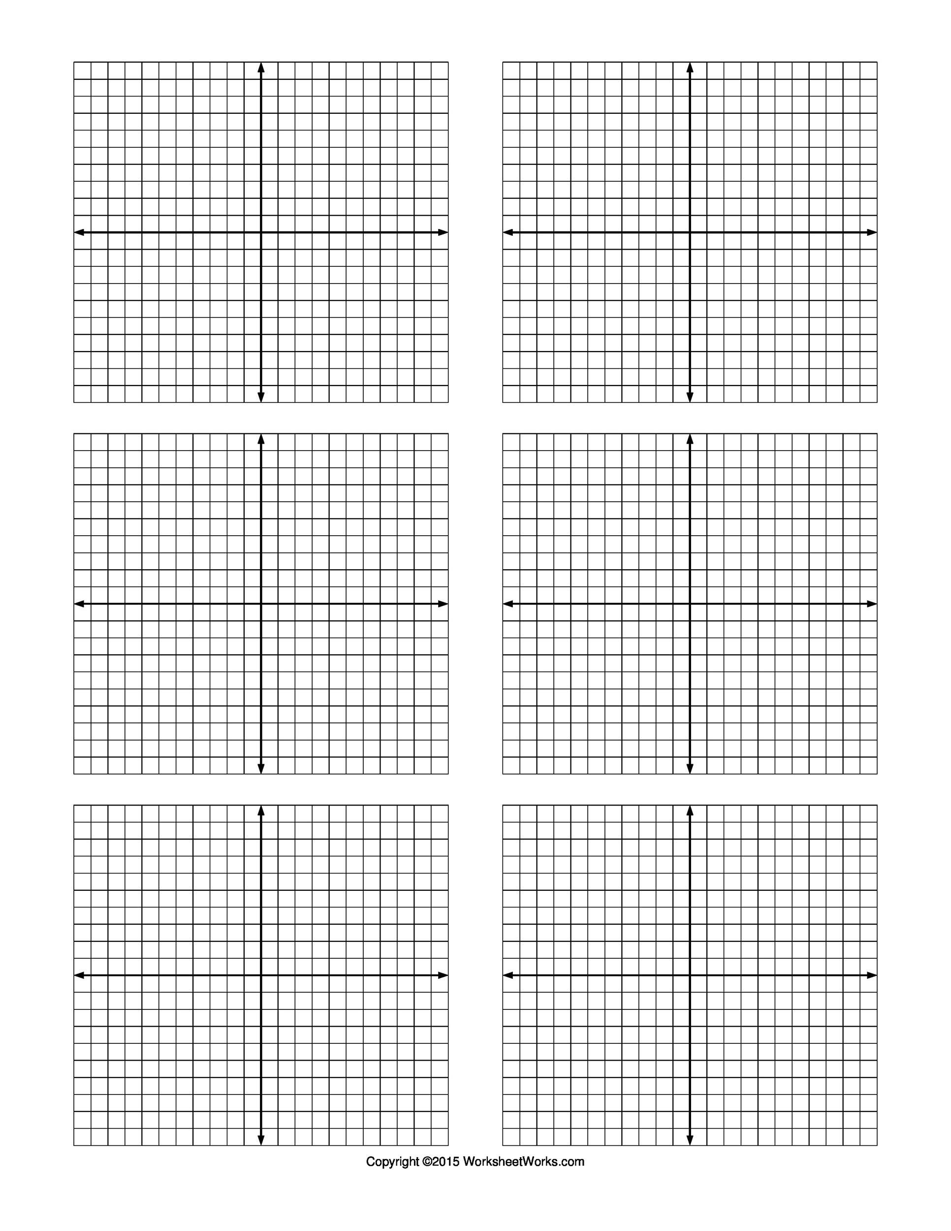 Printable Graph Paper Template 07  Graph Sheet Download