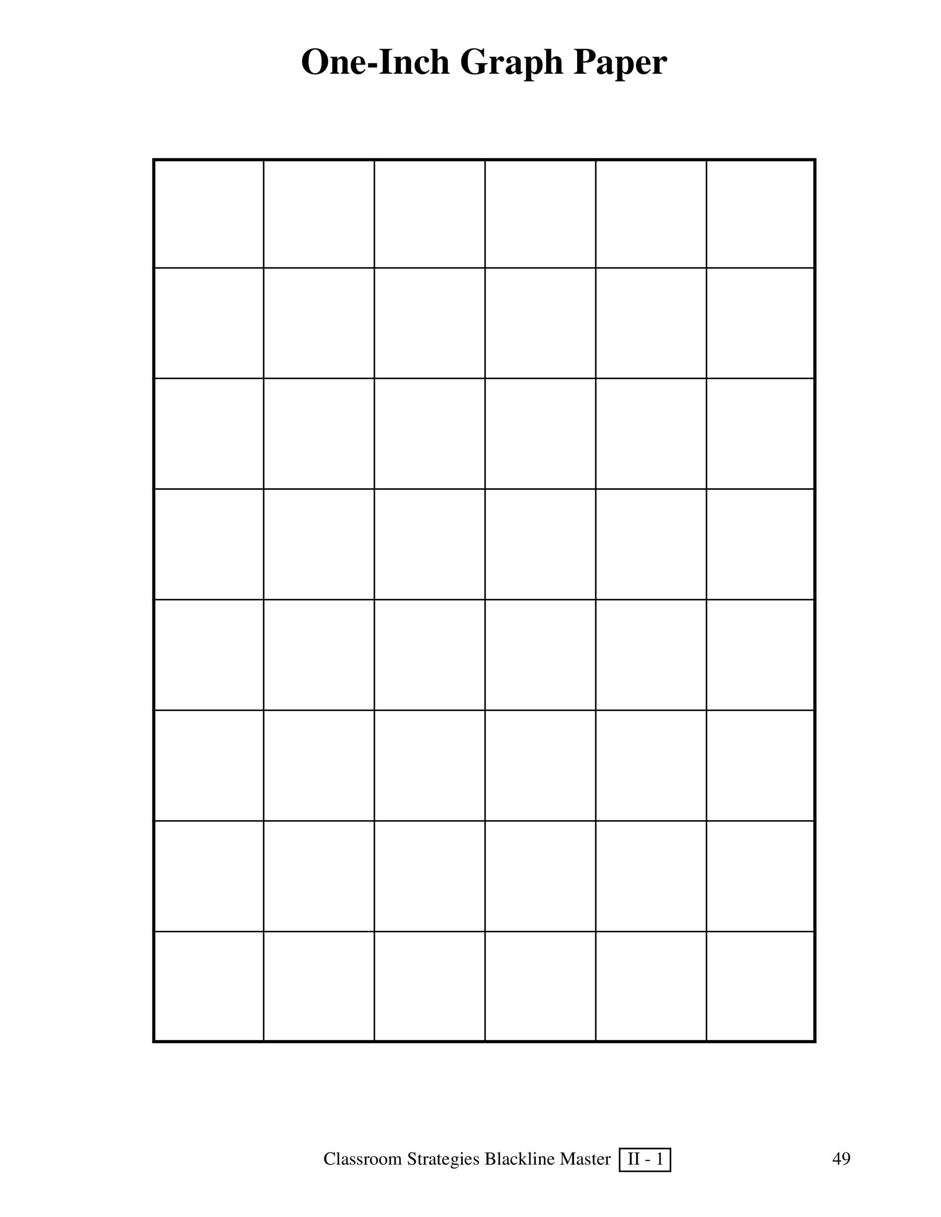 Printable Graph Paper Template 10  Loose Leaf Paper Template
